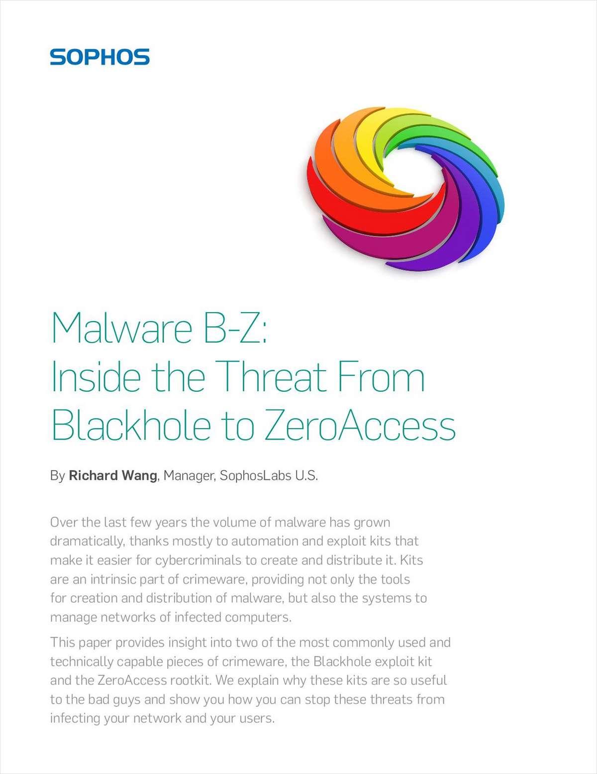 Malware B-Z: Inside the Threat From Blackhole to ZeroAccess