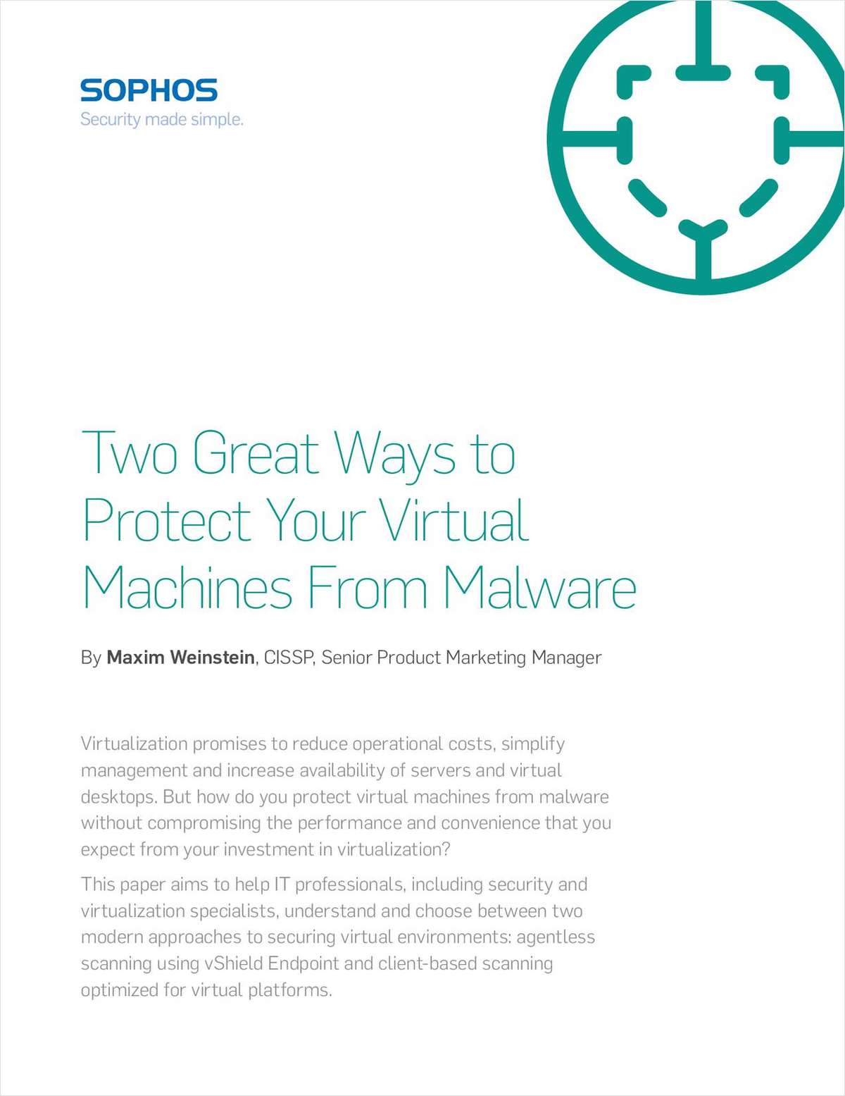 Two Great Ways to Protect Virtual Machines From Malware