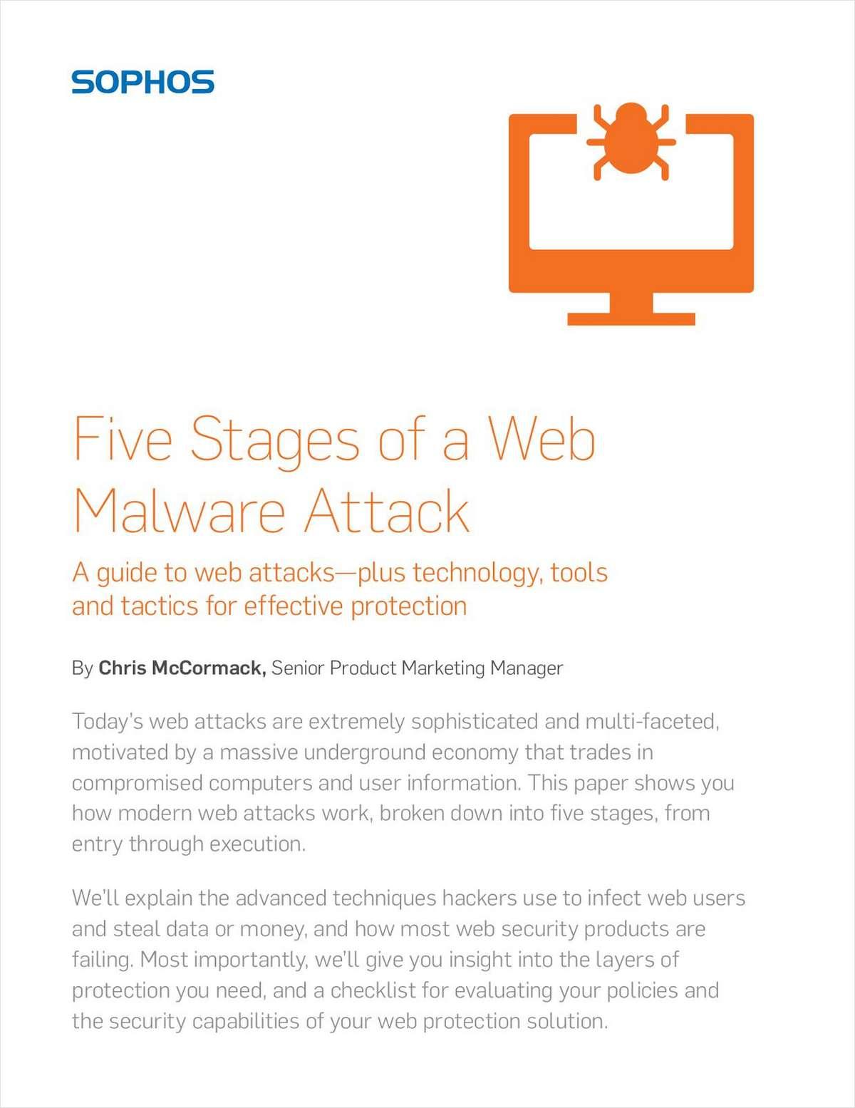 Five Stages of a Web Malware Attack