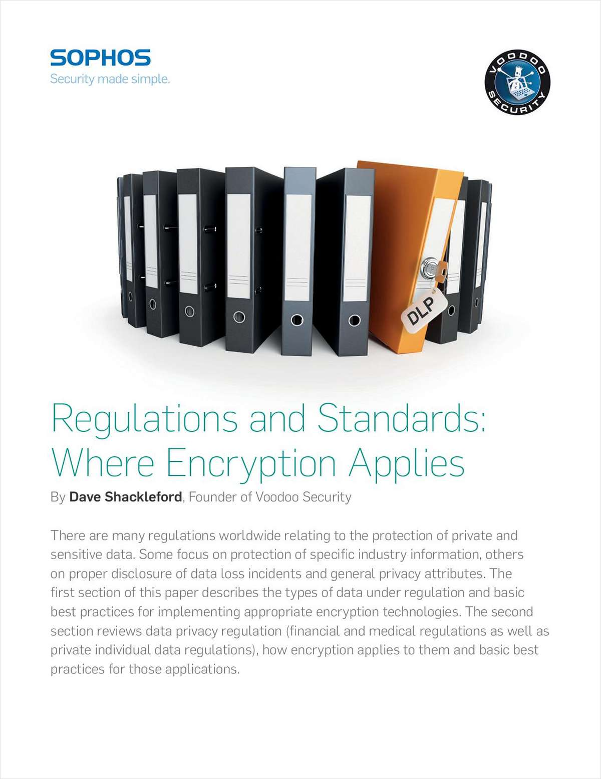 Regulations and Standards: Where Encryption Applies