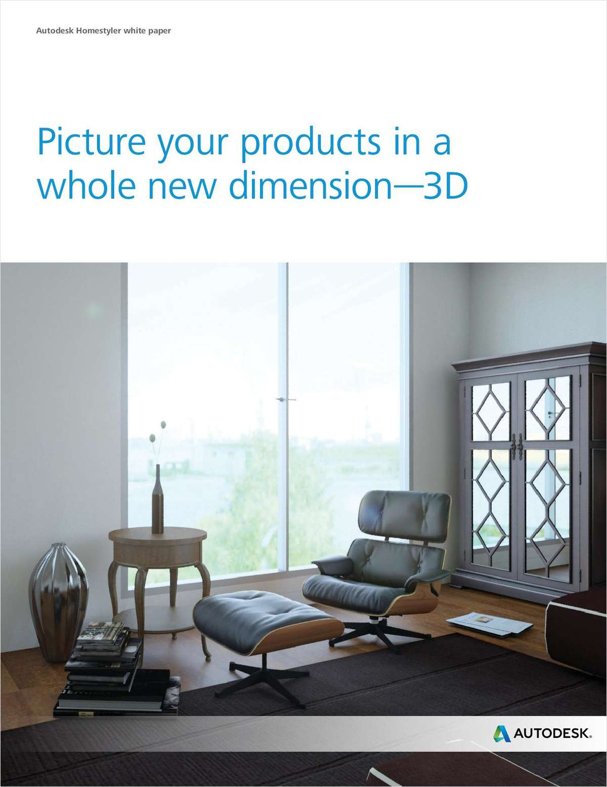 Picture Your Furniture Products in a Whole New Dimension—3D