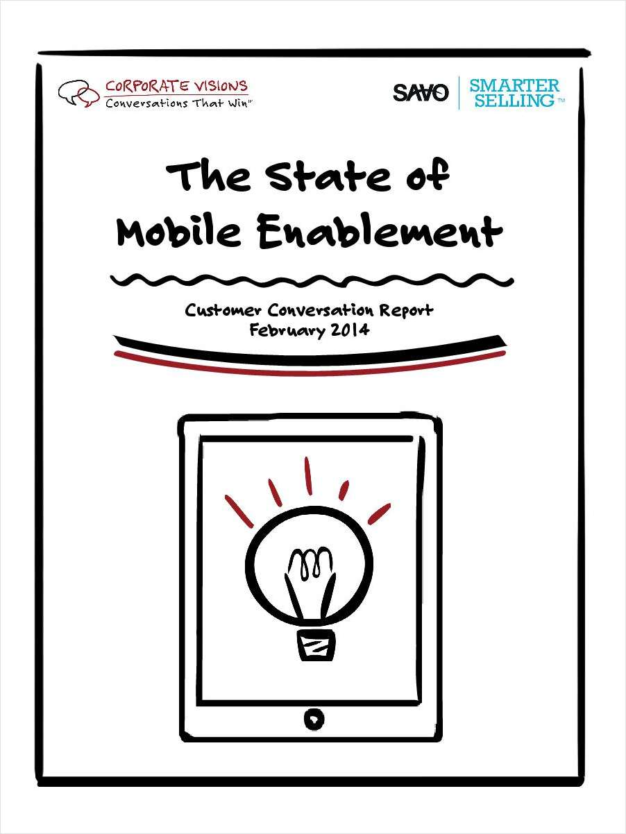 The State of Mobile Enablement in Sales and Marketing