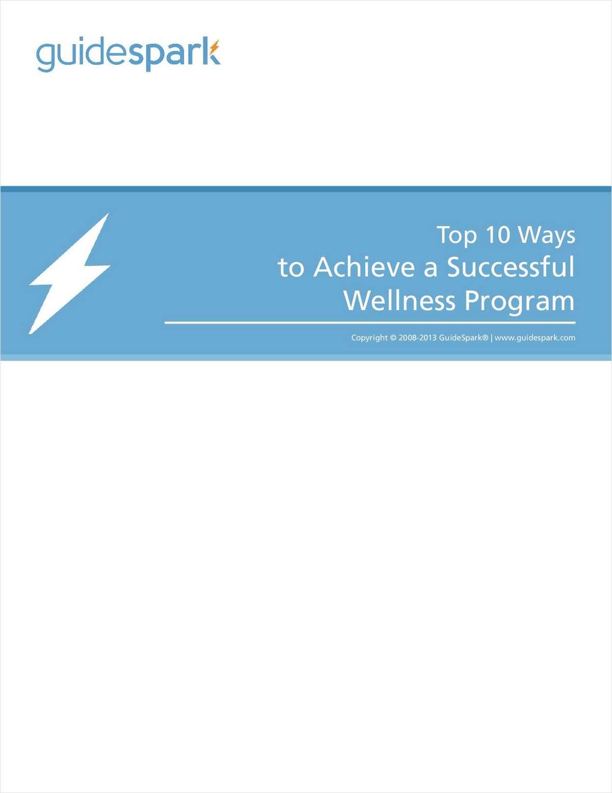 Top 10 Ways to Achieve a Successful Wellness Program