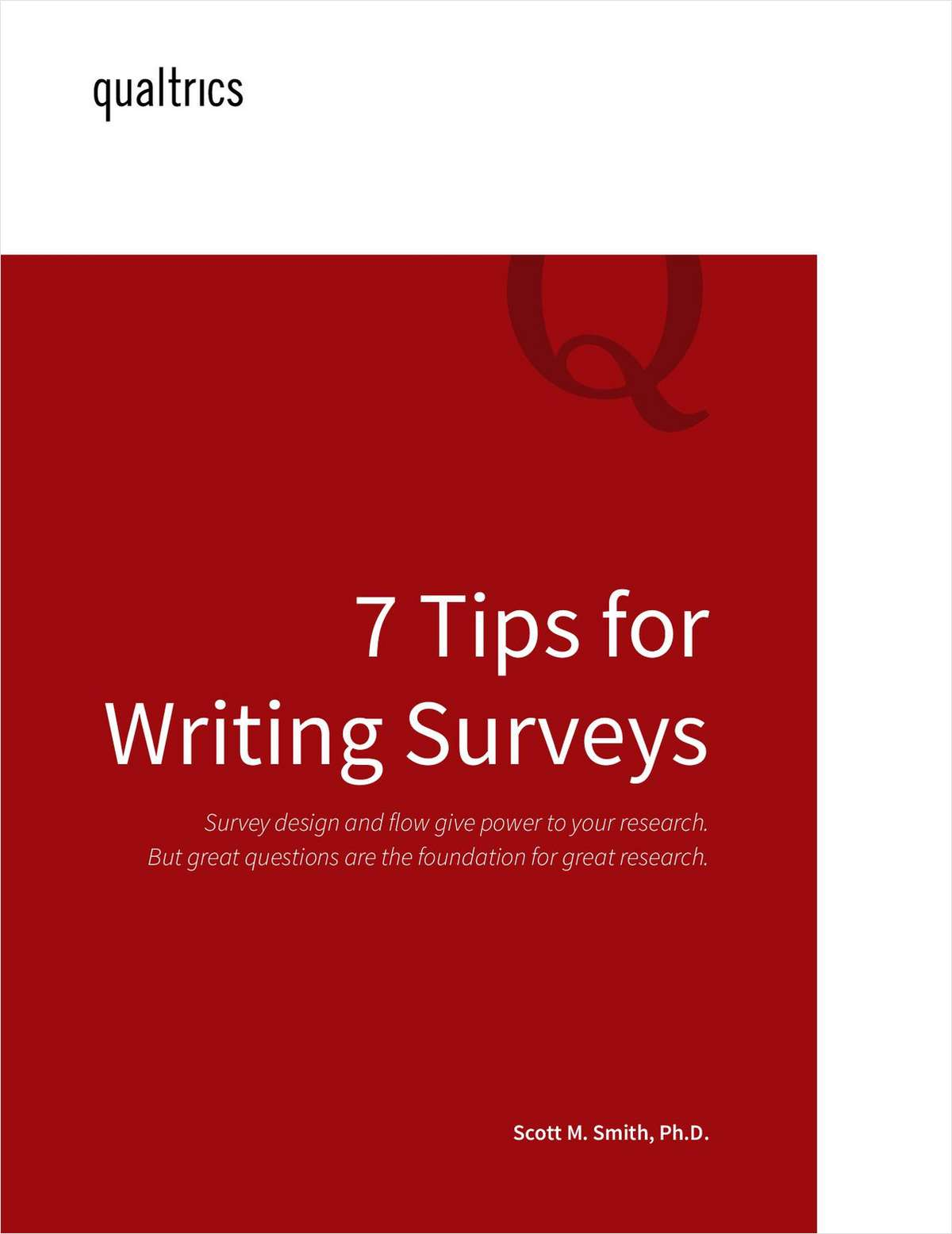 7 Tips for Writing Survey Questions