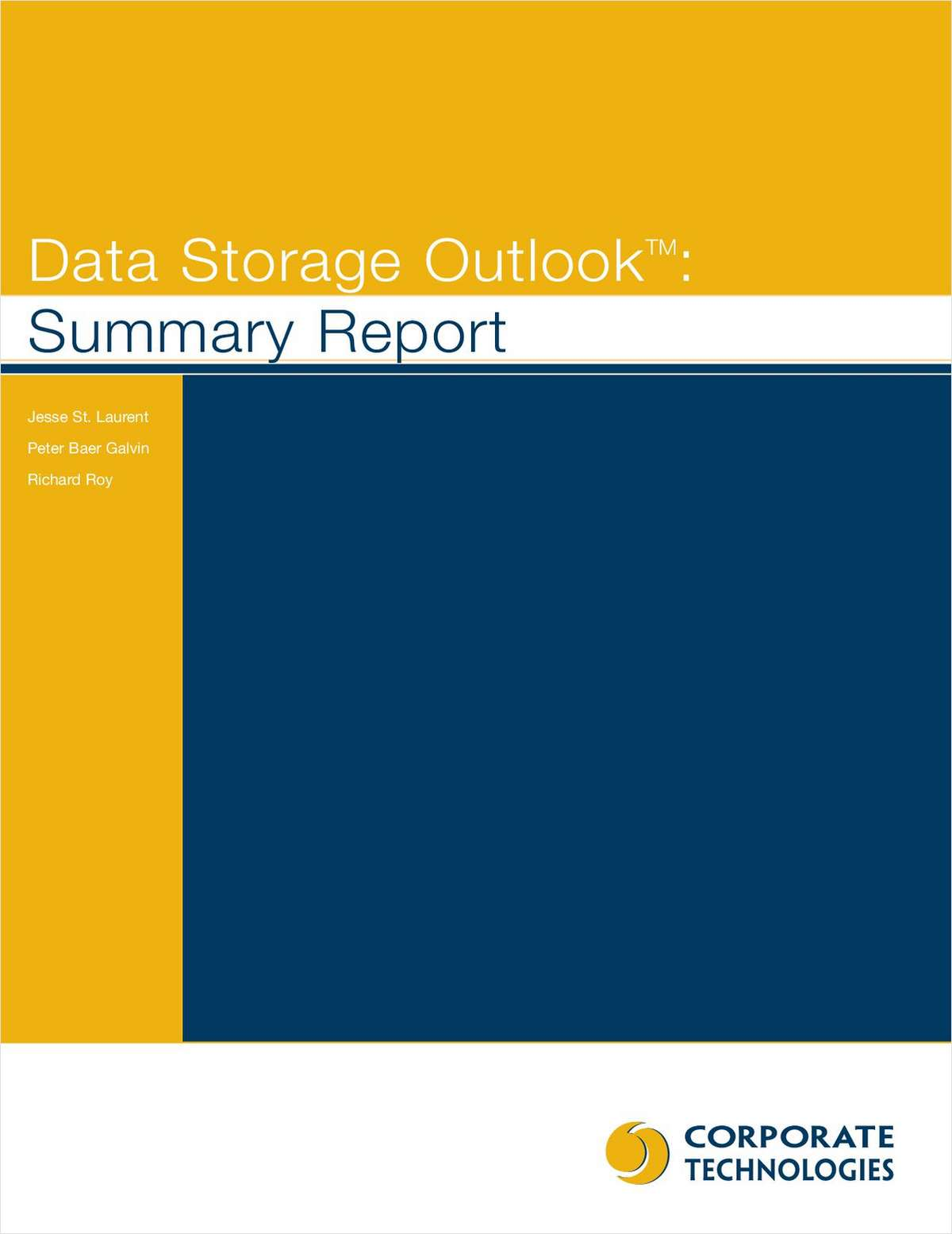 Data Storage Outlook Summary Report