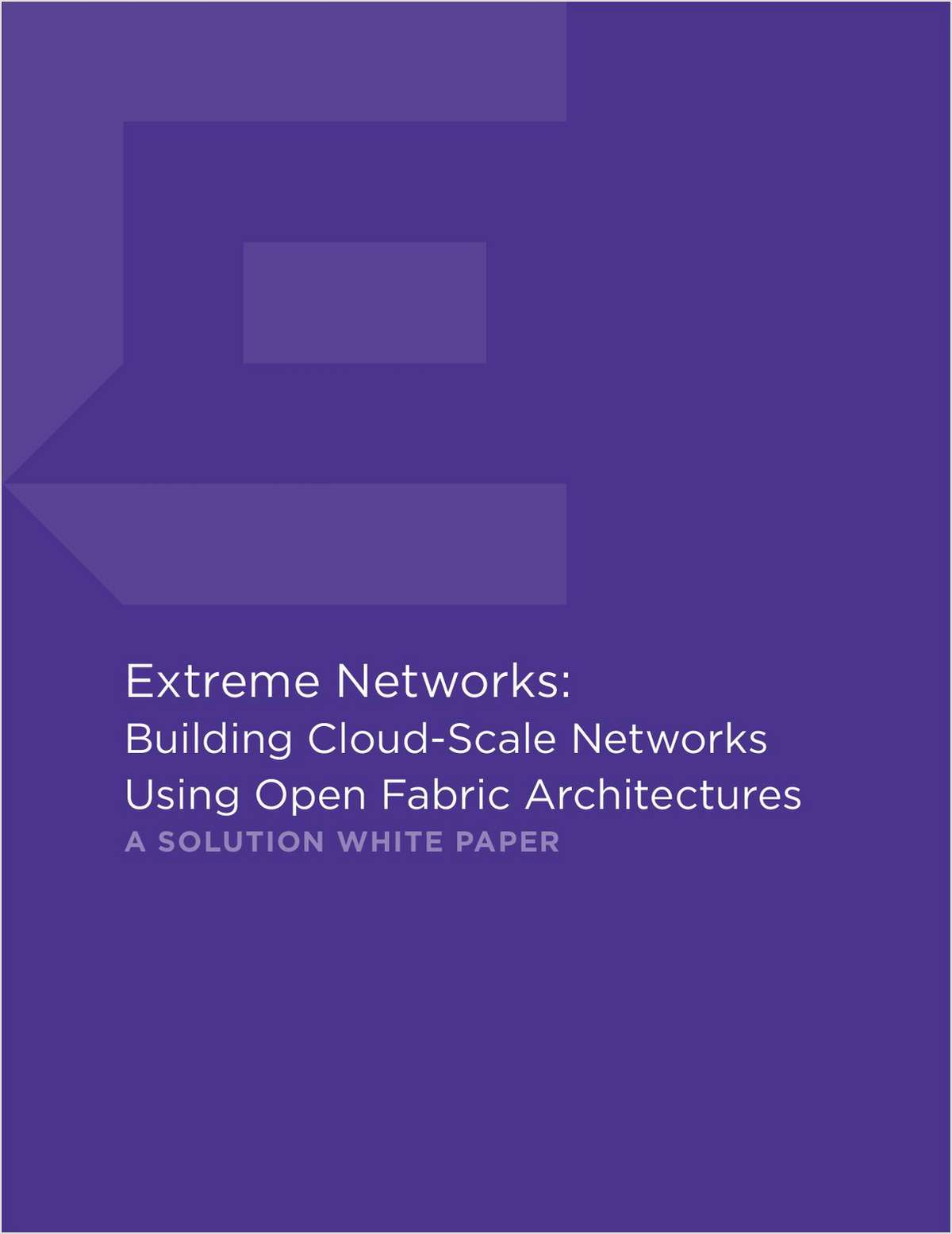Enabling Cloud-Scale Data Centers