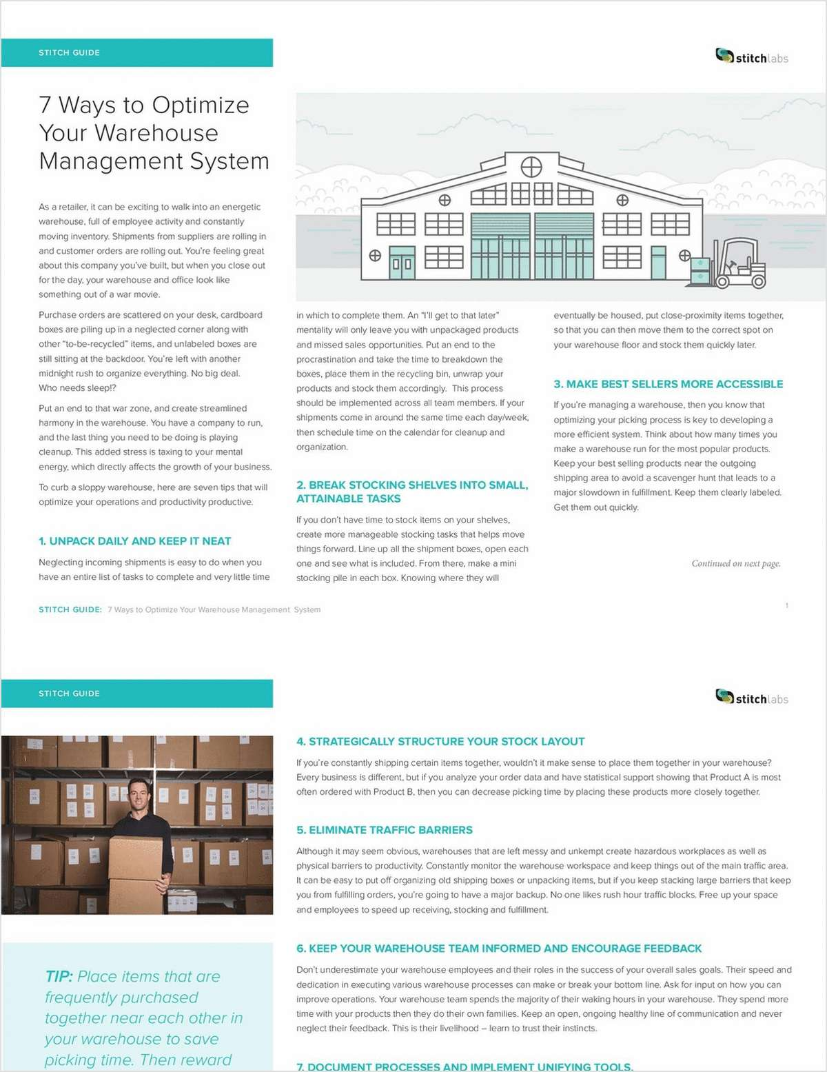 7 Ways to Optimize Your Warehouse Management