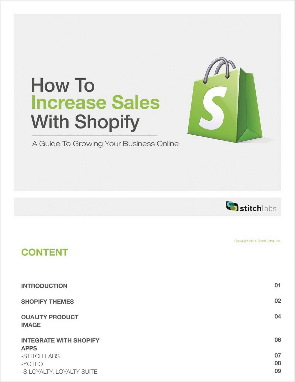 Increase Shopify Sales Today