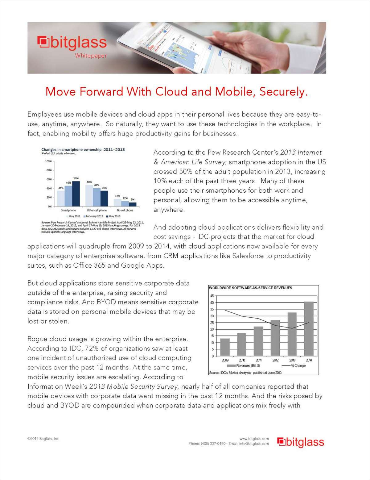 Move Forward With Cloud and Mobile, Securely
