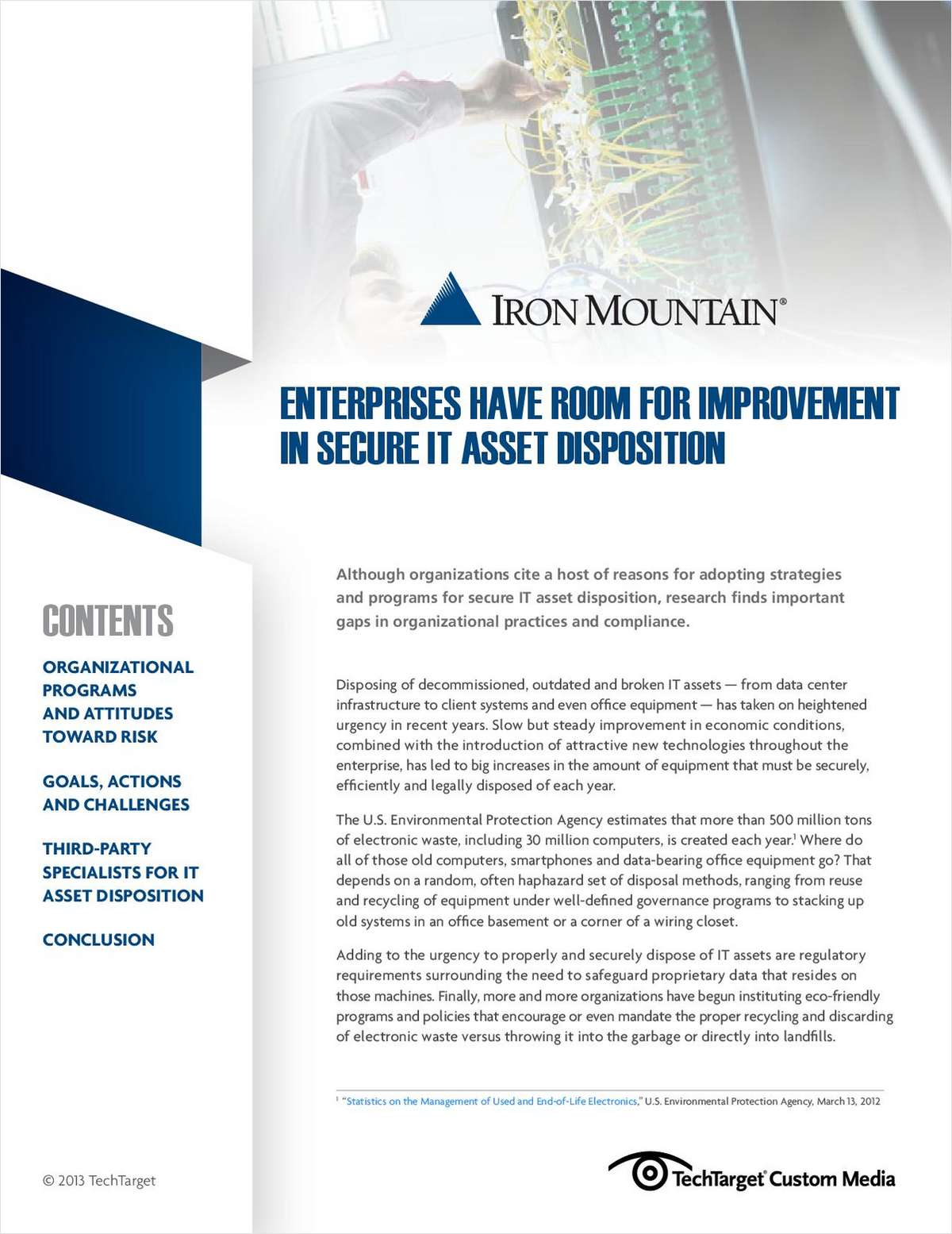 Room for Improvement in Secure IT Asset Disposition