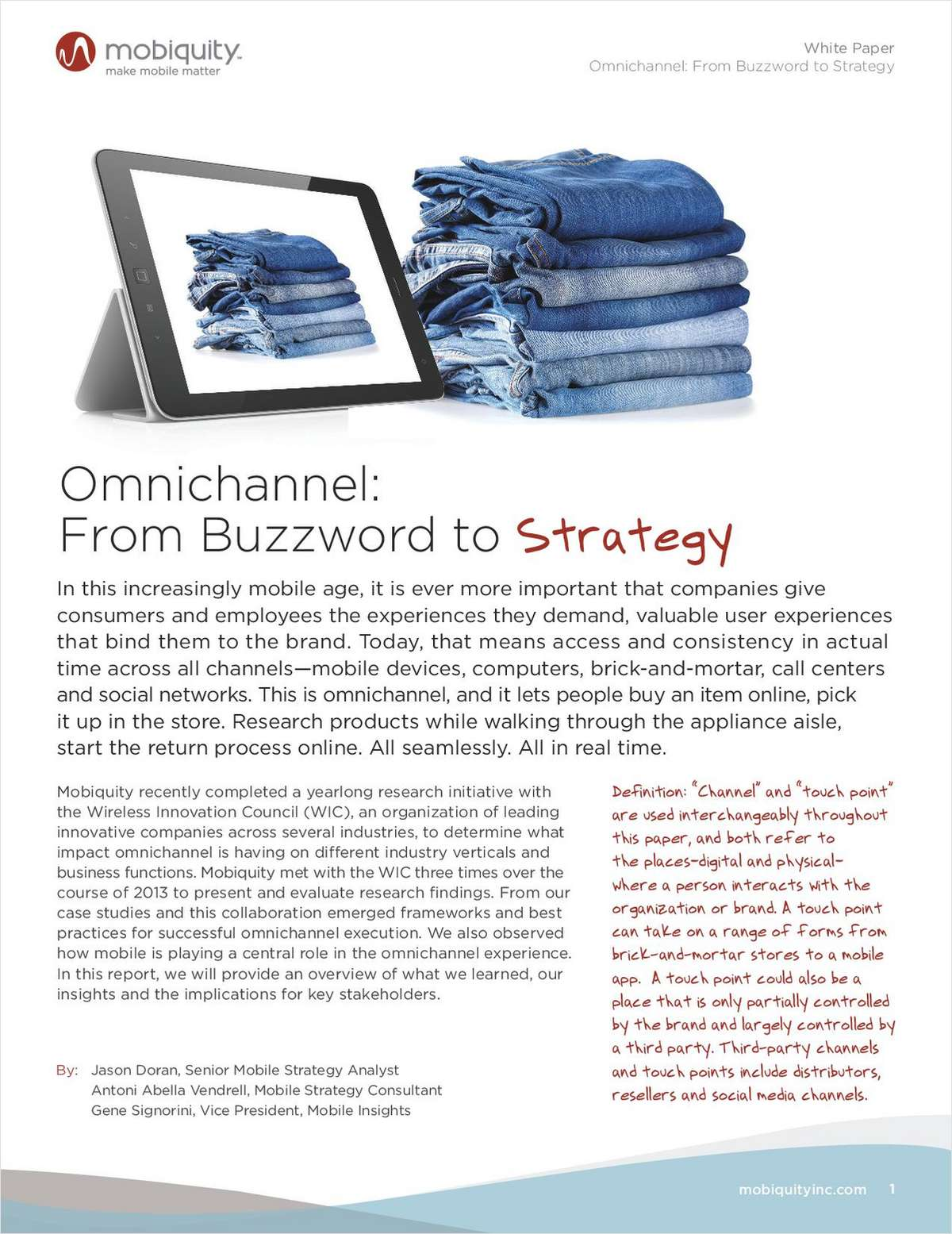 Omnichannel: From Buzzword to Strategy