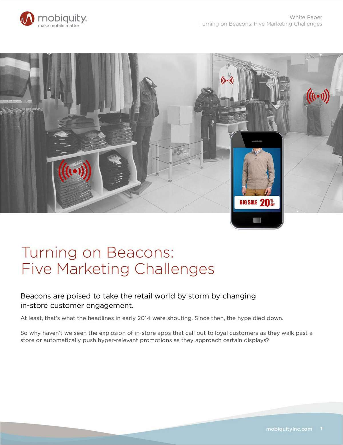Turning on Beacons: 5 Marketing Challenges