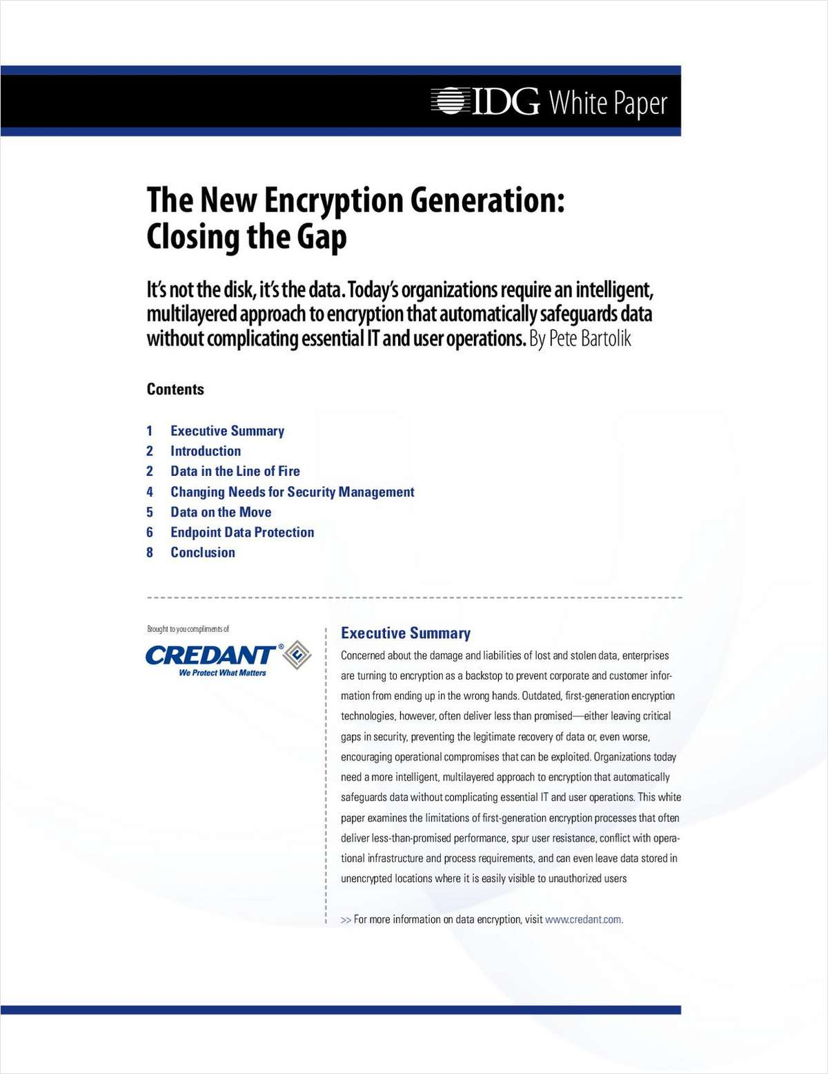 The New Encryption Generation: Closing the Gap