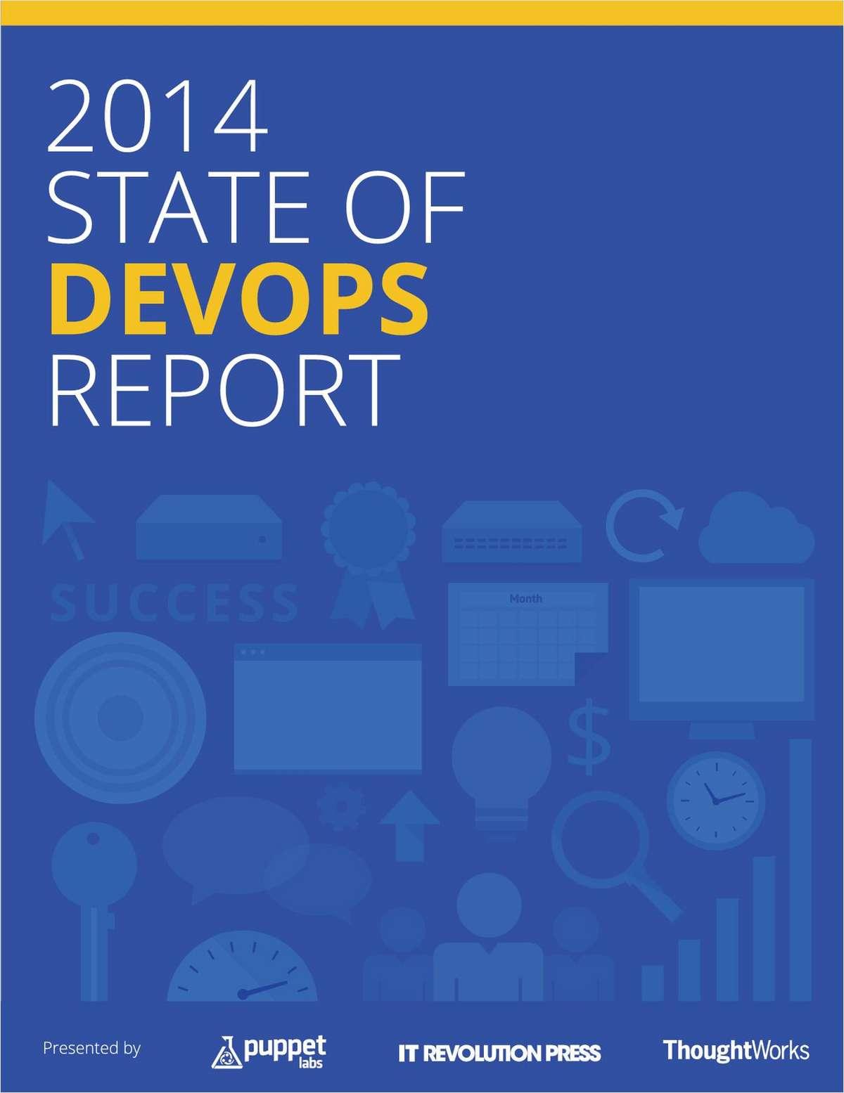 2014 State of DevOps Report