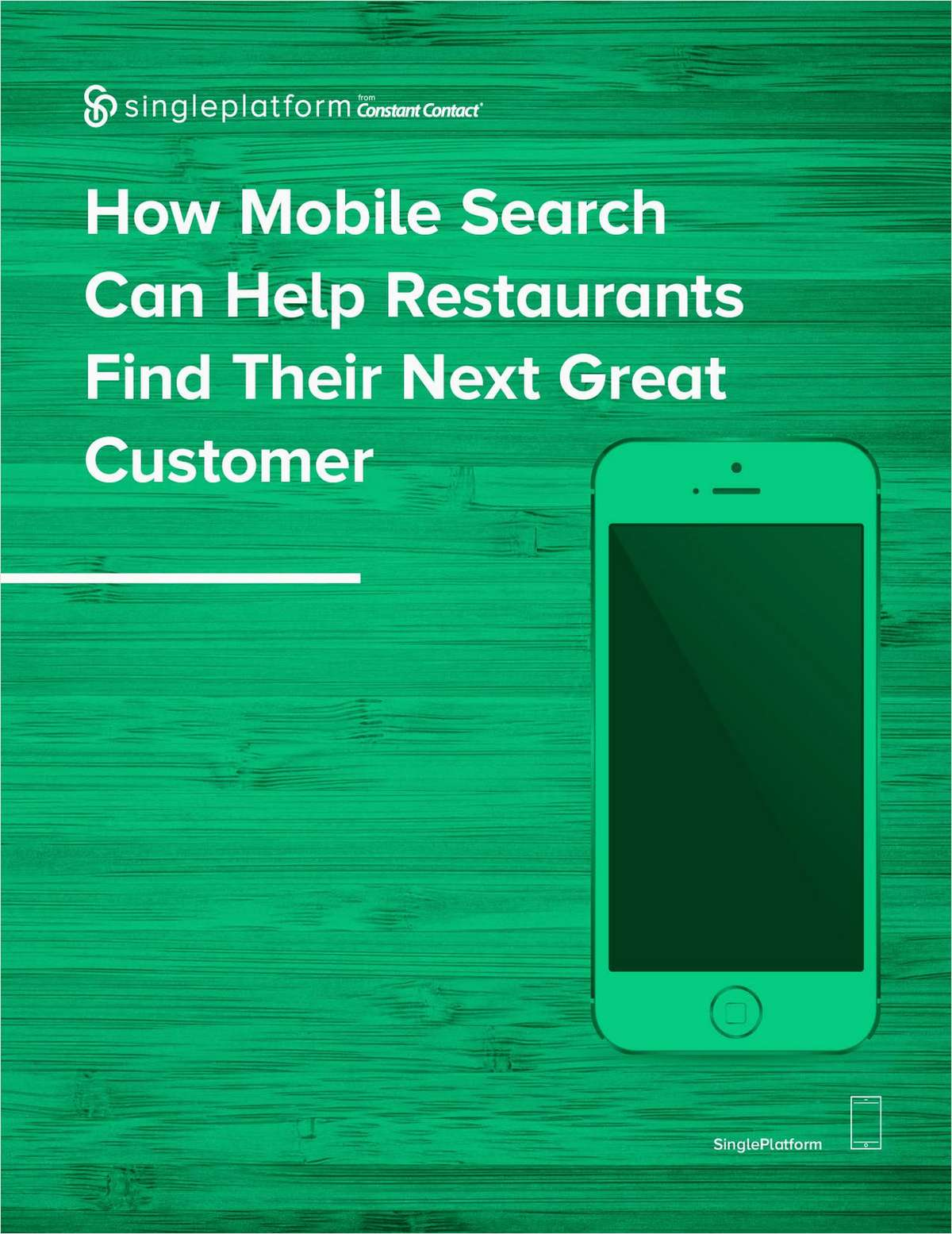 How Mobile Search Can Help Restaurants Find Their Next Great Customer