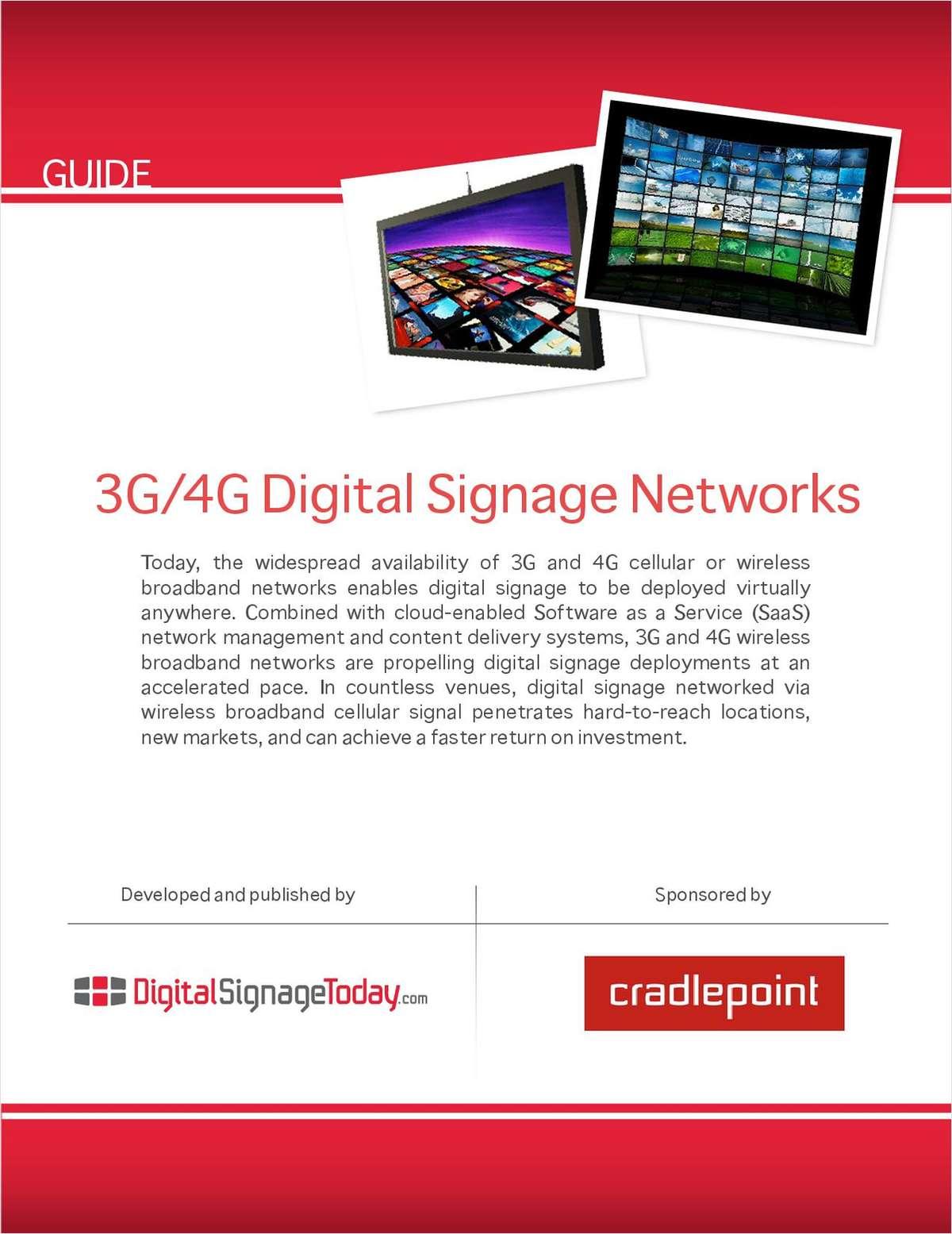3G/4G Digital Signage Guide