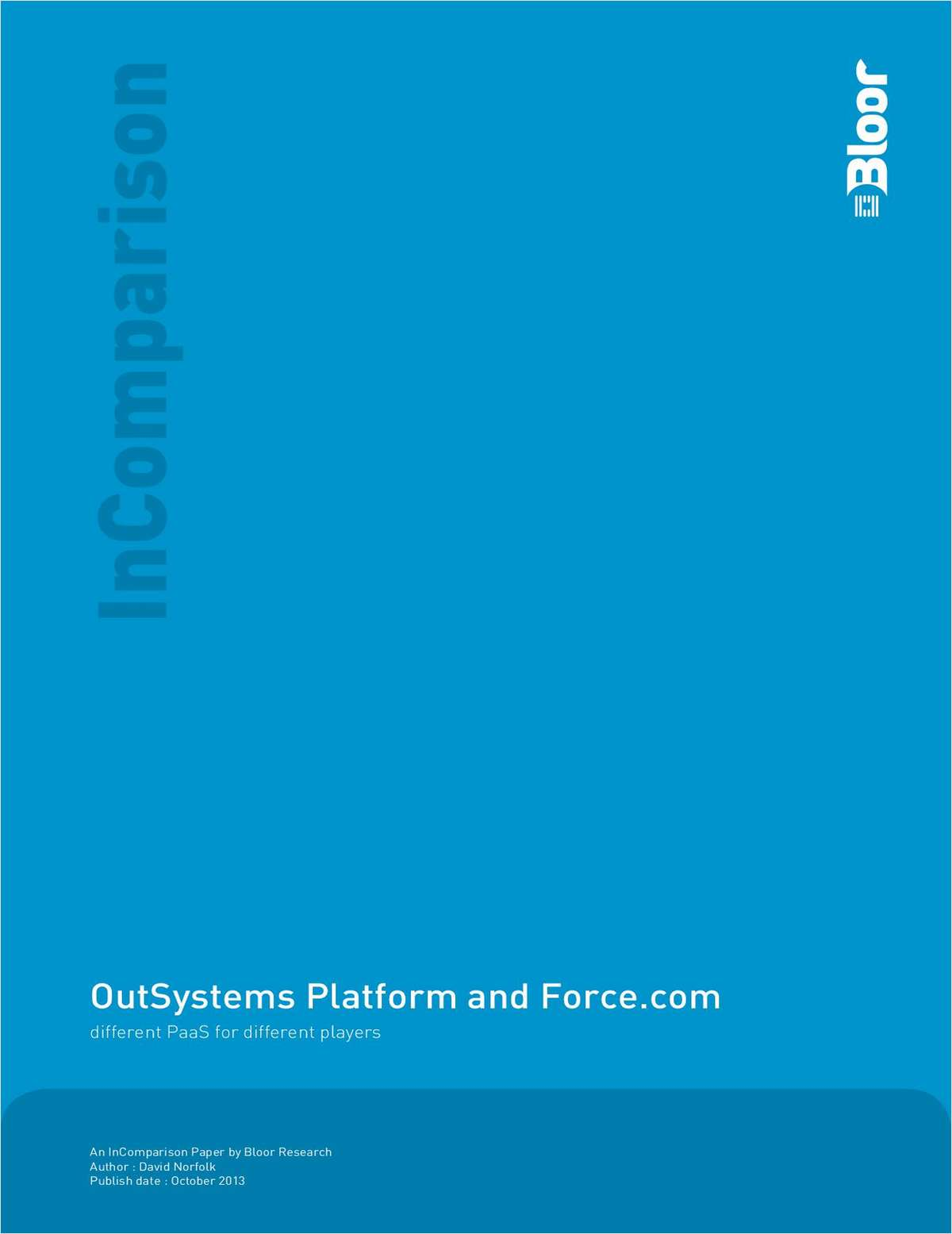 OutSystems Platform and Force.com: Different PaaS for Different Players