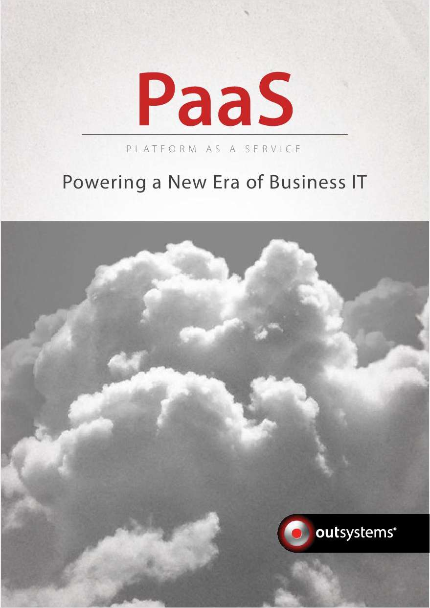 PaaS – Powering a New Era of Business IT