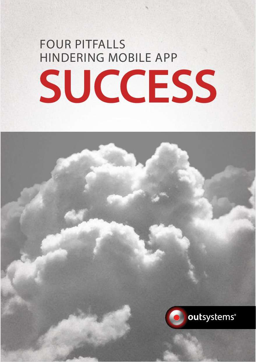 Four Pitfalls Hindering Mobile App Success