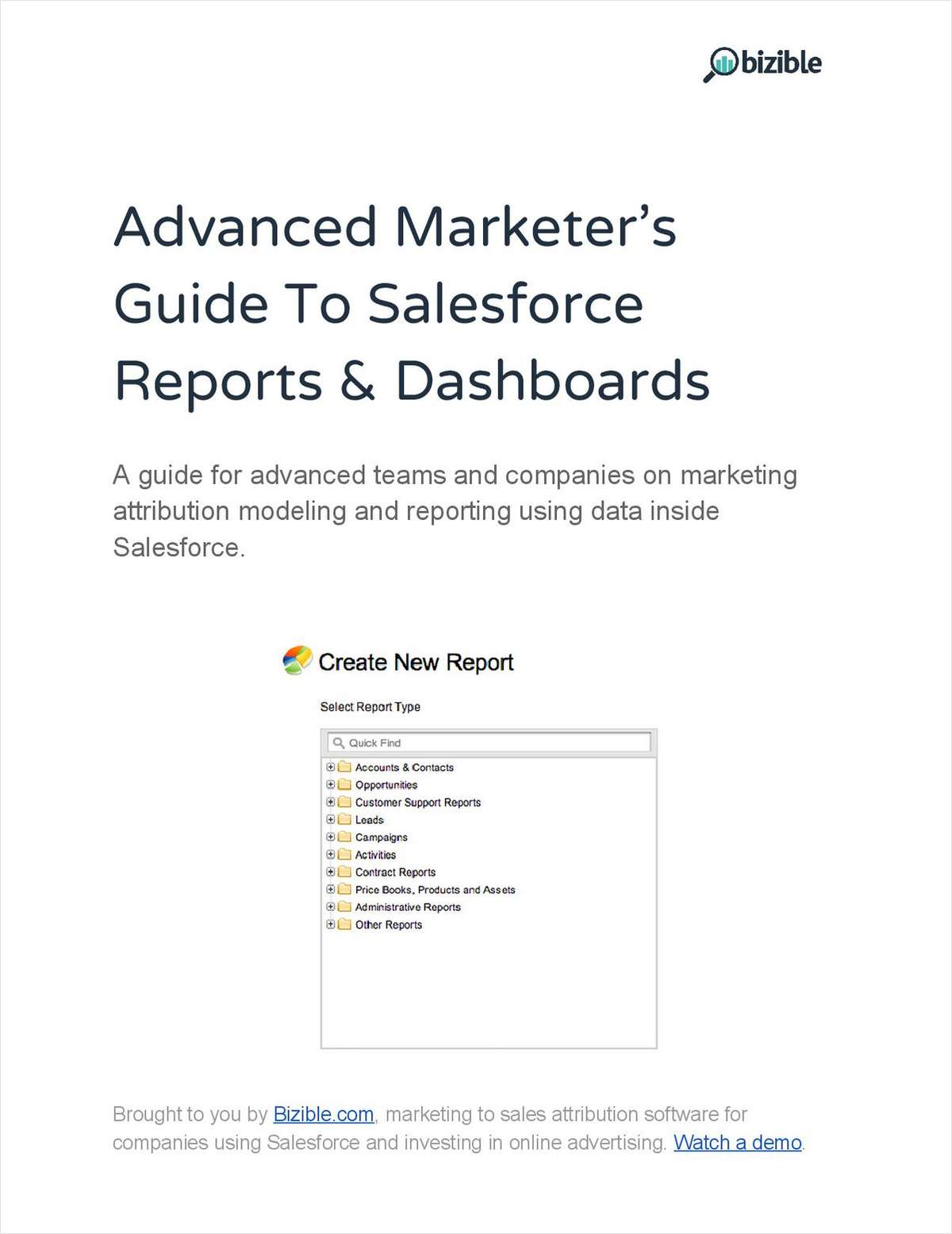 Advanced Marketer's Guide To Salesforce Reports & Dashboards