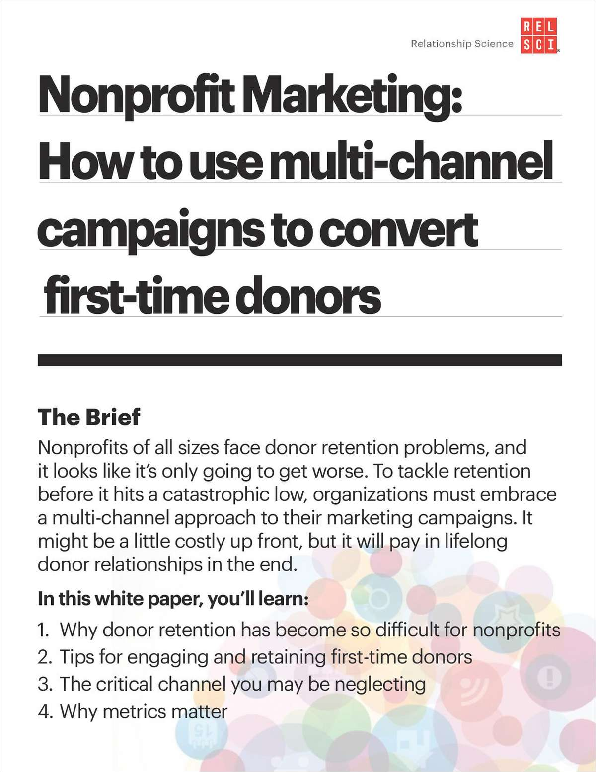 Nonprofit Marketing: How Fundraisers Can Use Multi-Channel Campaigns to Convert First-Time Donors