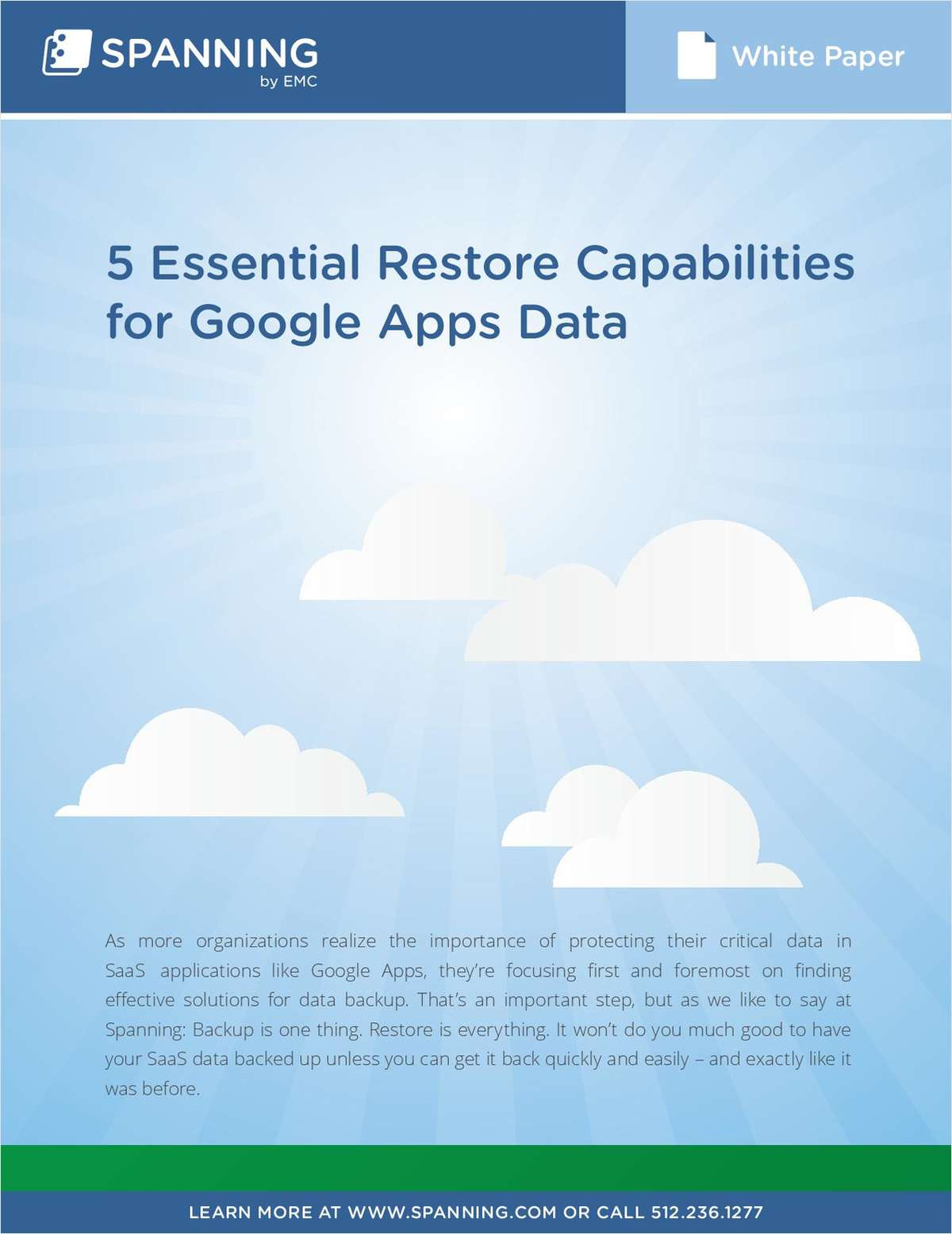 5 Essential Restore Capabilities for Google Apps Backup
