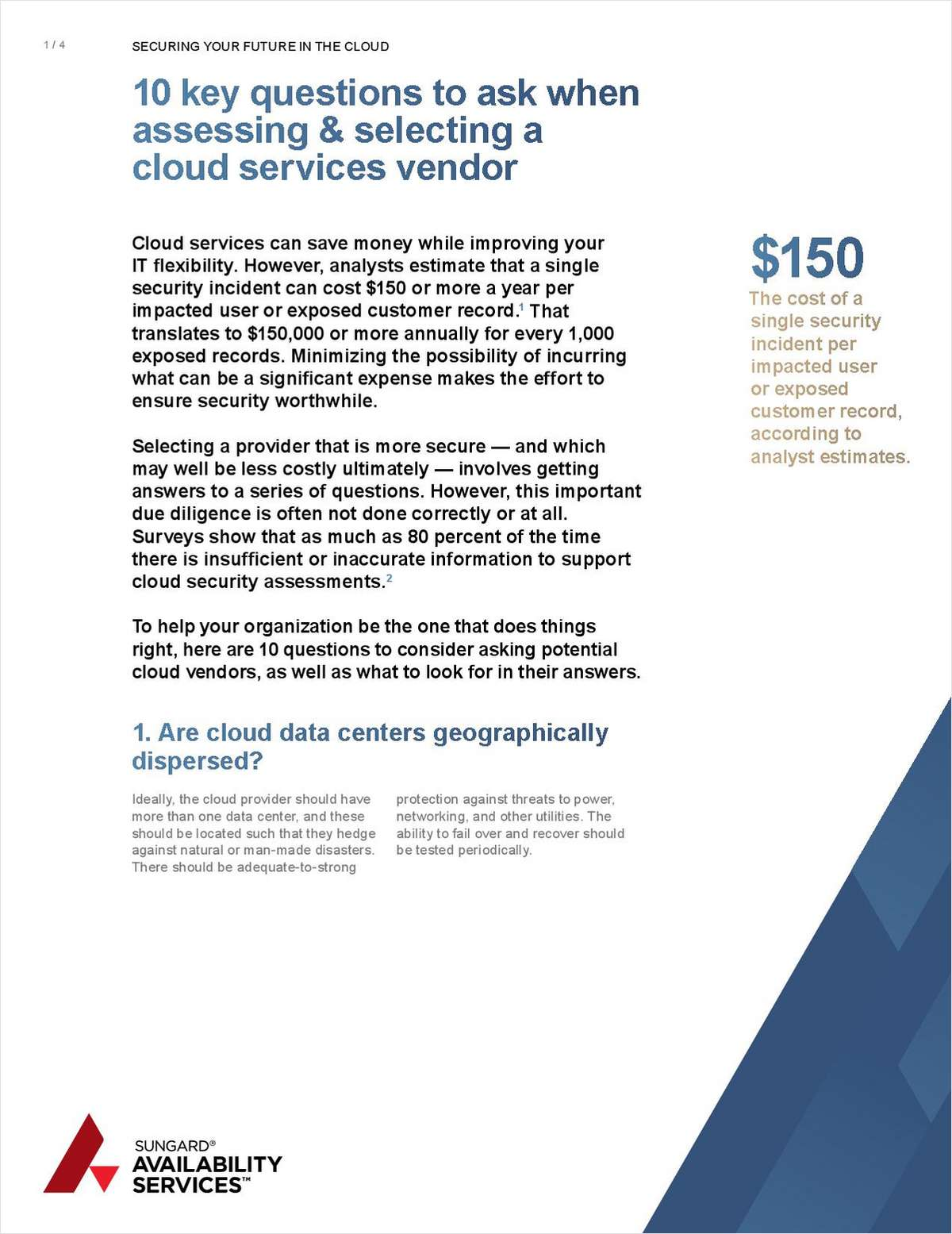 Securing Your Future in the Cloud