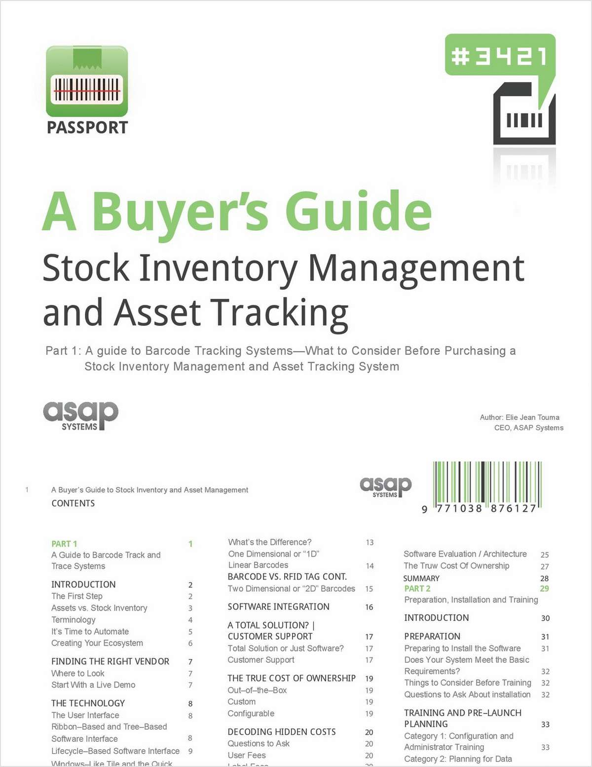 Best Practices for Researching and Purchasing a Barcode Inventory System