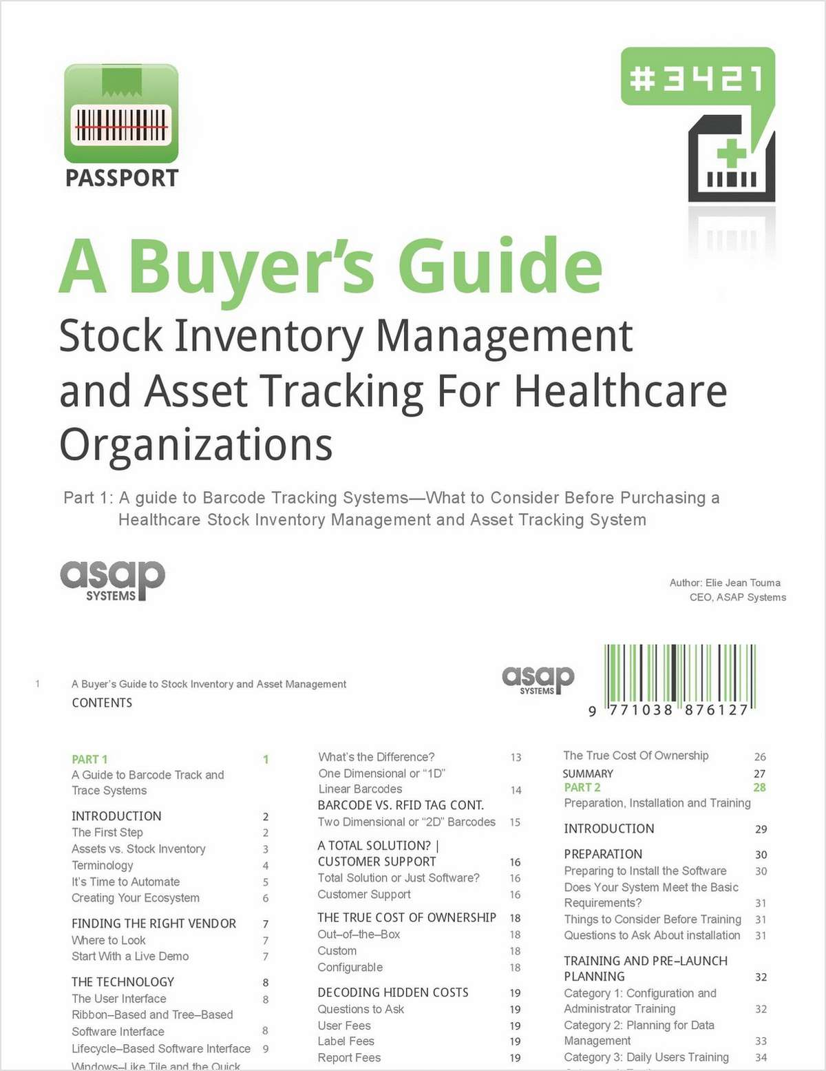 A Buyer's Guide: Stock Inventory Management and Asset Tracking for Healthcare Organizations