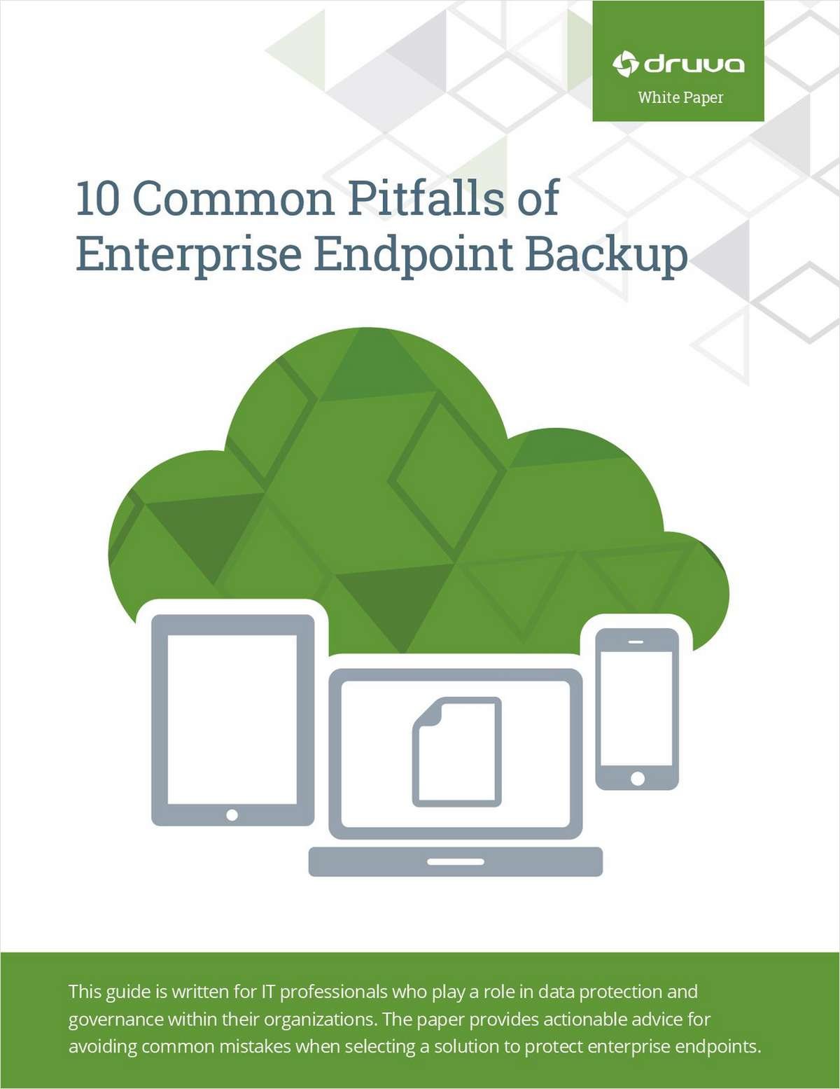 10 Common Pitfalls of Successful Enterprise Endpoint Backup
