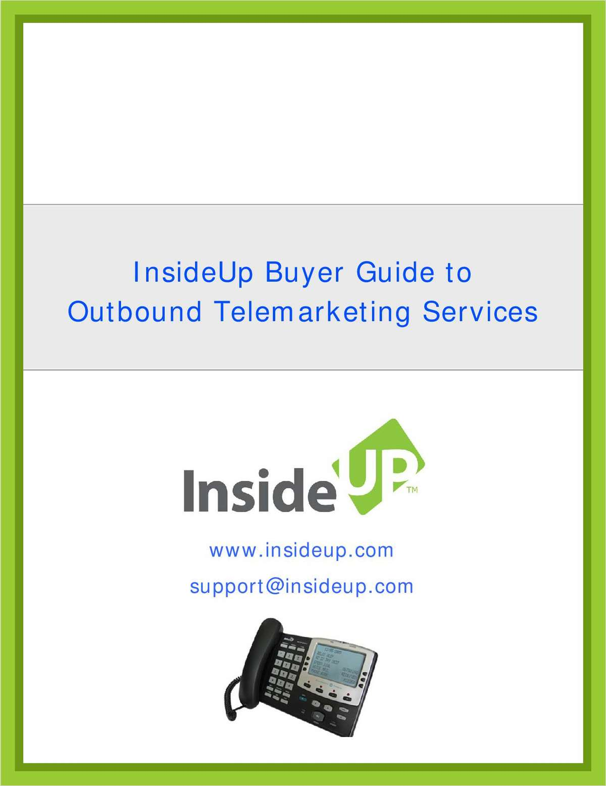 How To Use Outbound Telemarketing Services To Increase Your Sales