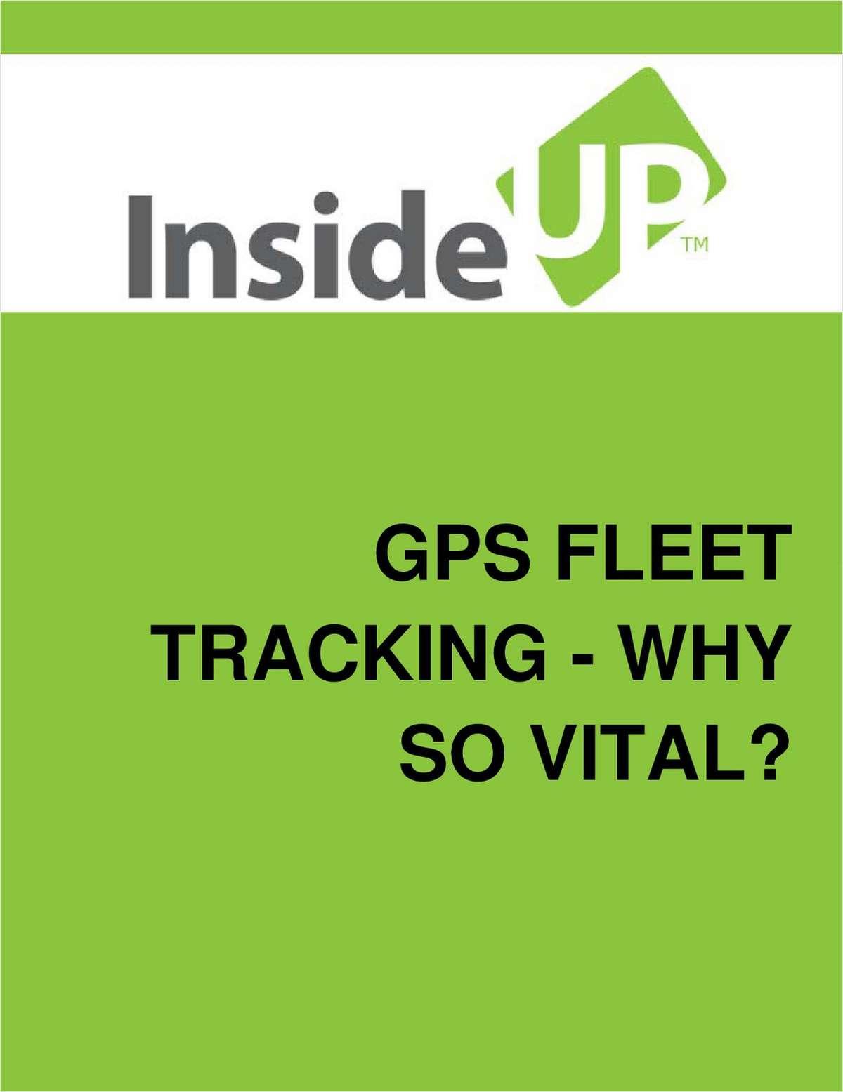 GPS Fleet Tracking - Why So Vital?