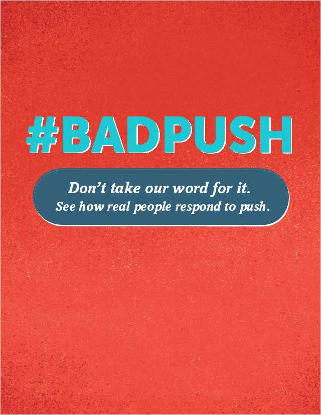 Bad Push Guide