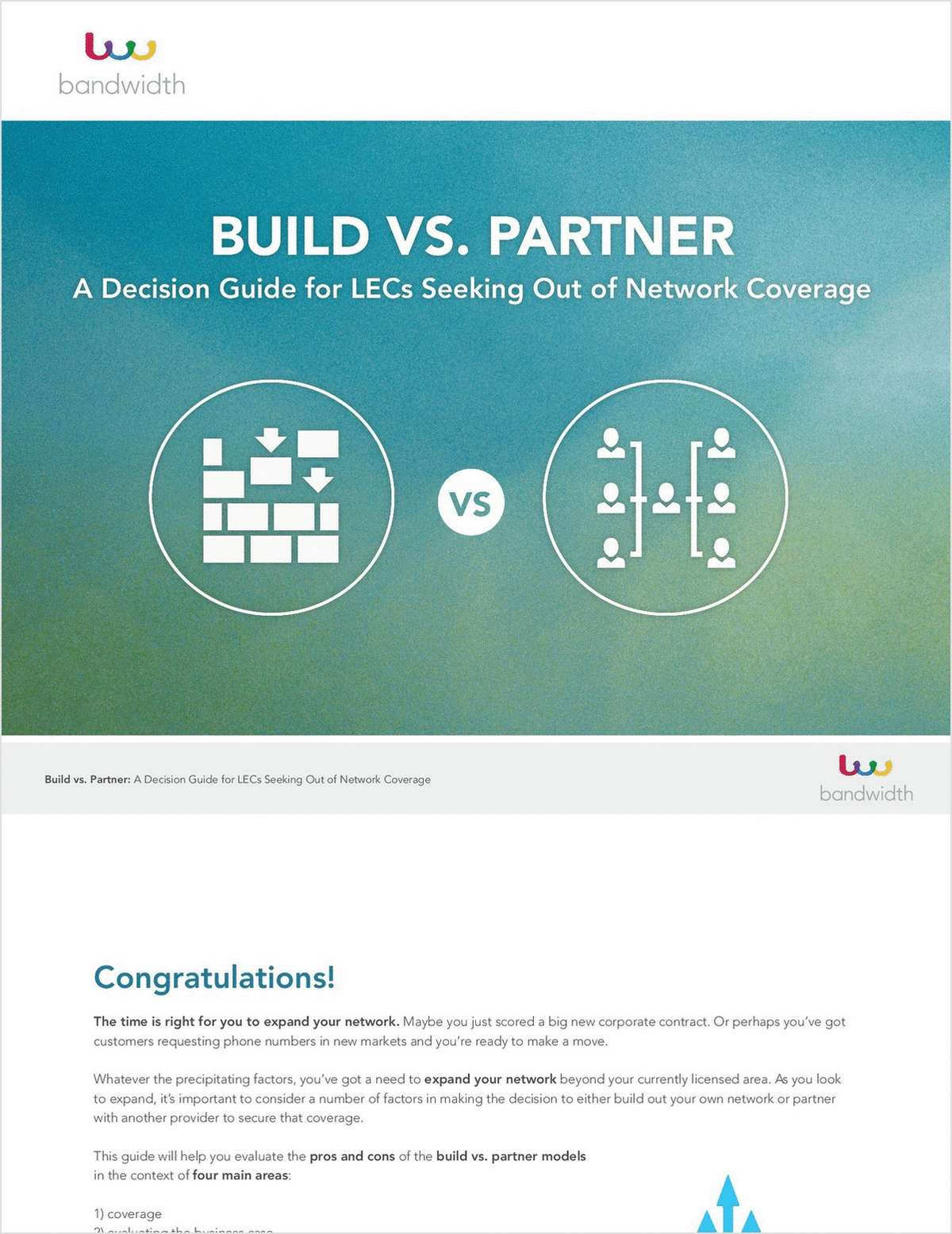 Build Vs. Partner: A Decision Guide for LECs Seeking Out of Network Coverage