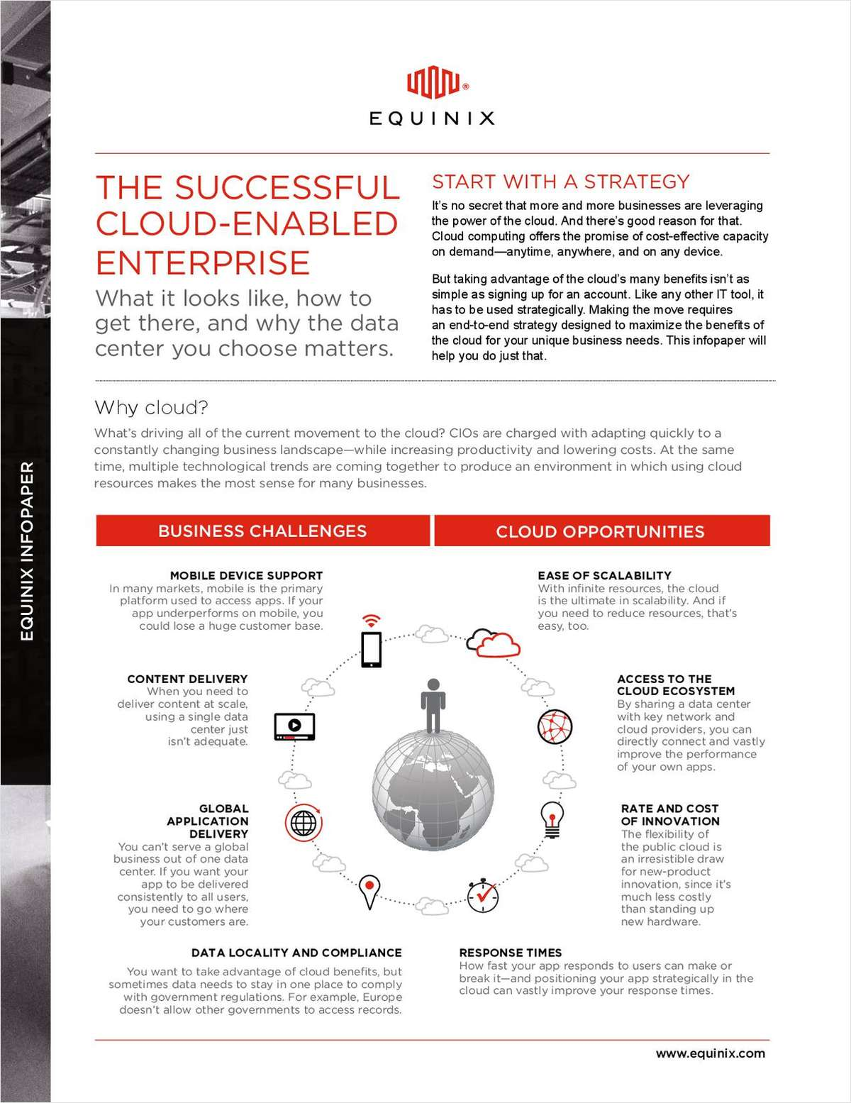 The Successful Cloud Enabled Enterprise - Your Journey to the Cloud Infopaper
