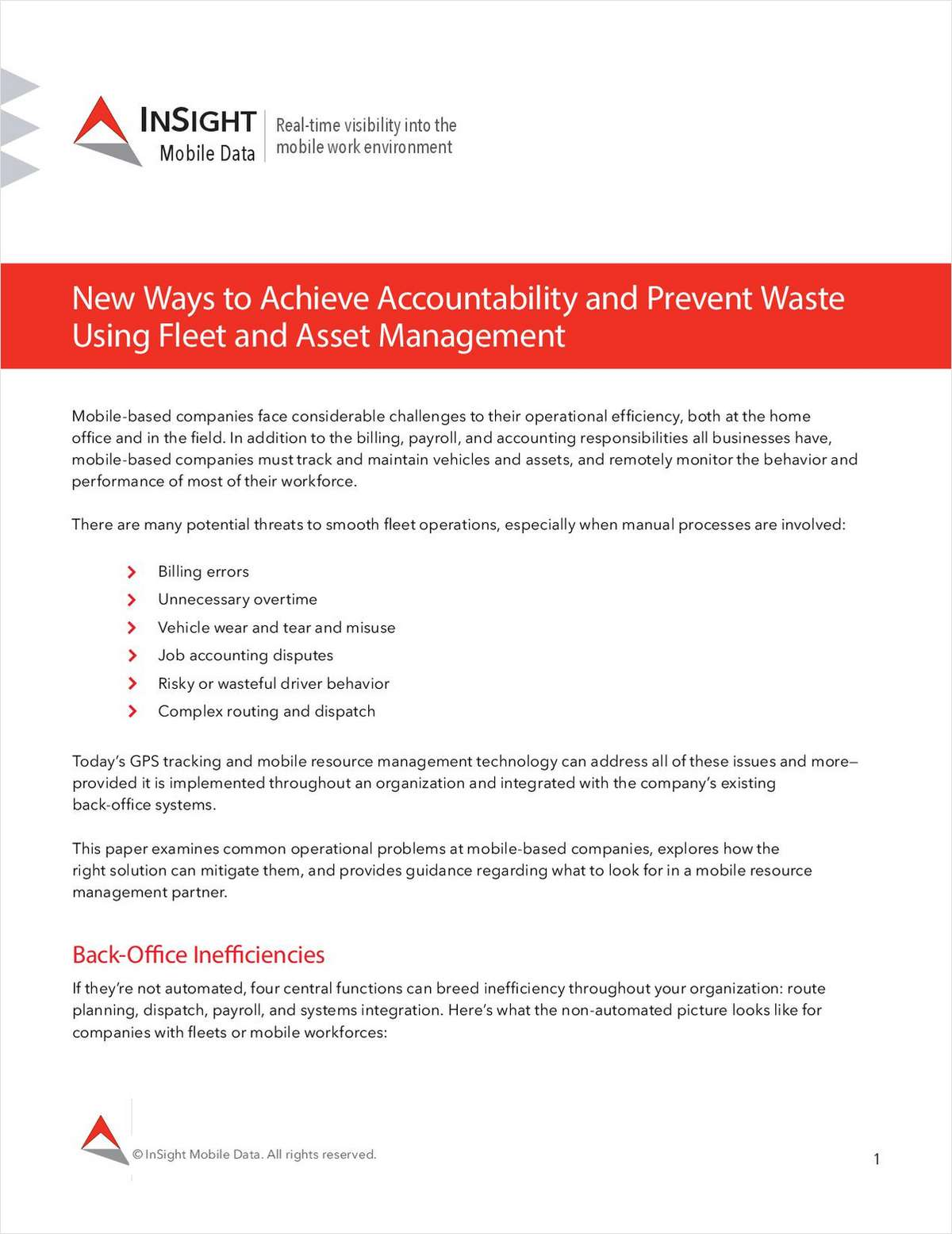New Ways to Achieve Accountability and Prevent Waste Using Fleet and Asset Management