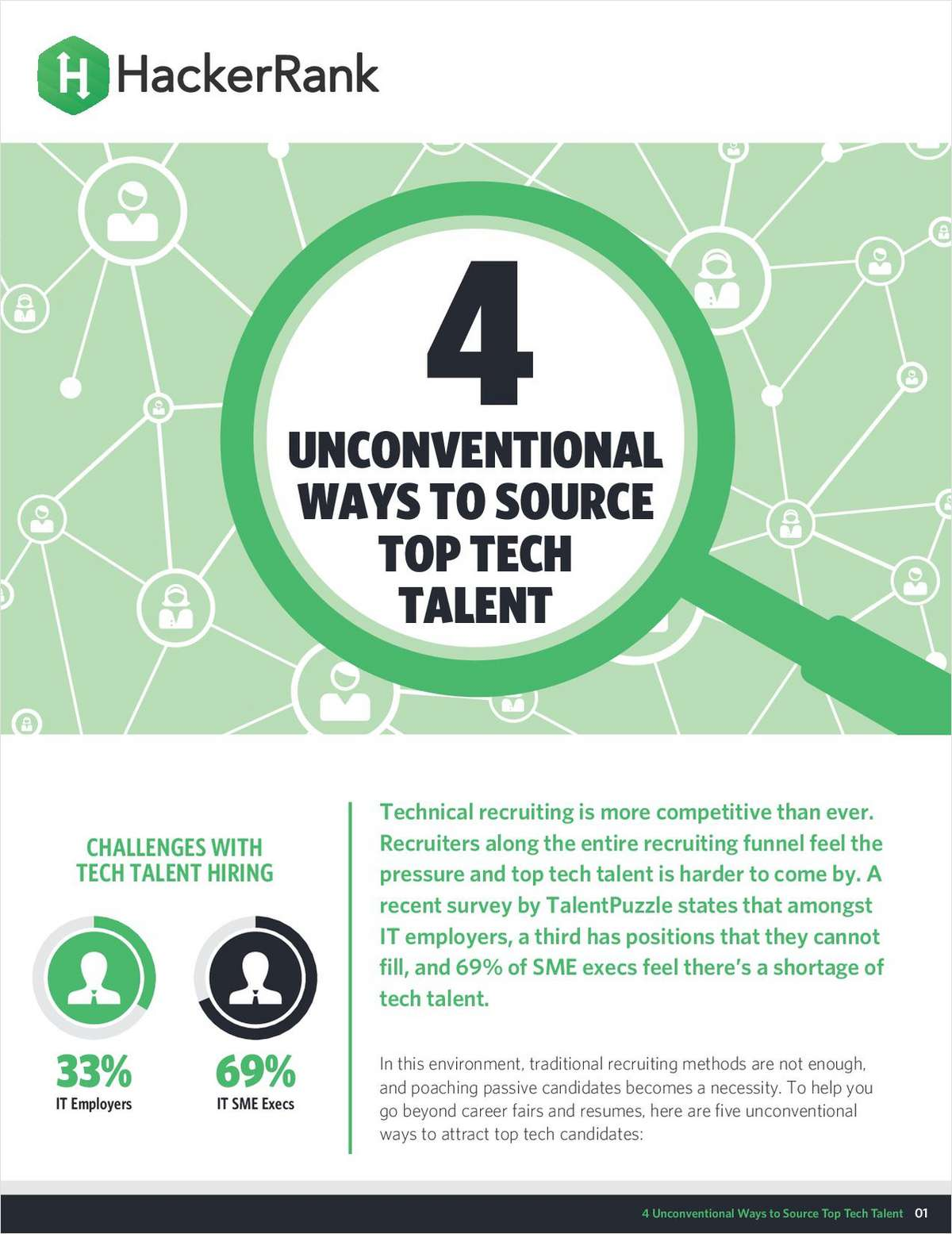 4 Unconventional Ways to Source Top Tech Talent