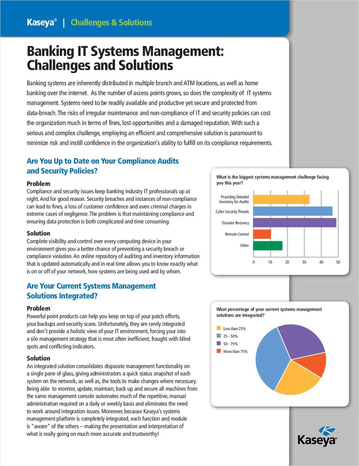 Banking IT Systems Management: Challenges and Solutions