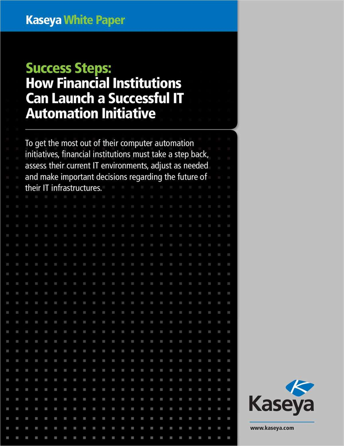 How Financial Institutions Can Launch a Successful IT Automation Initiative
