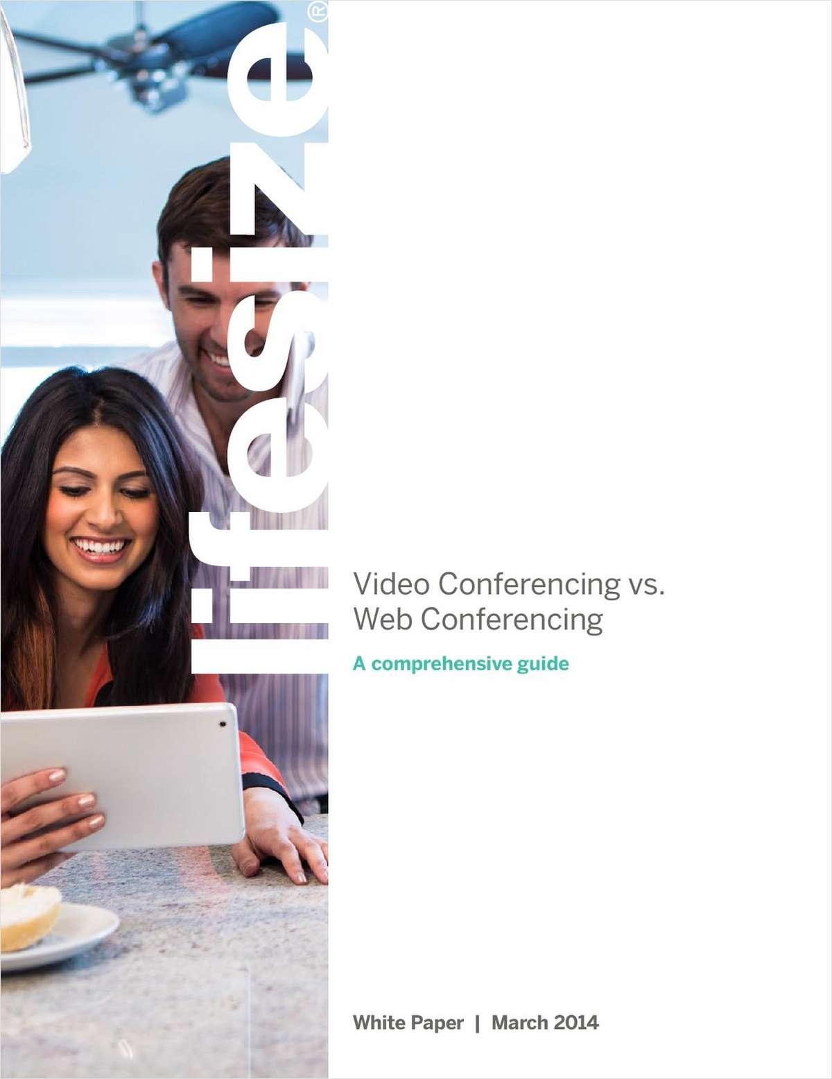 Video Conferencing vs. Web Conferencing