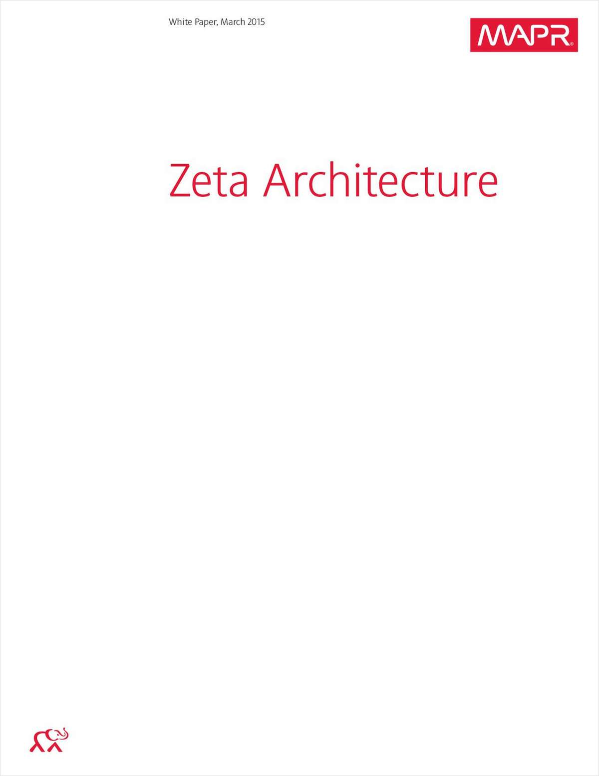 Zeta Architecture: Simplifying Business Processes
