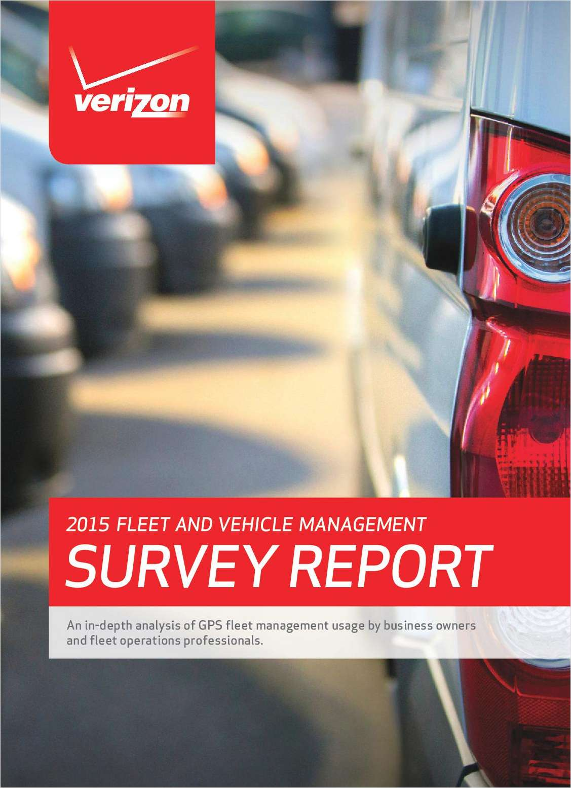 2015 Fleet and Vehicle Management Survey Report