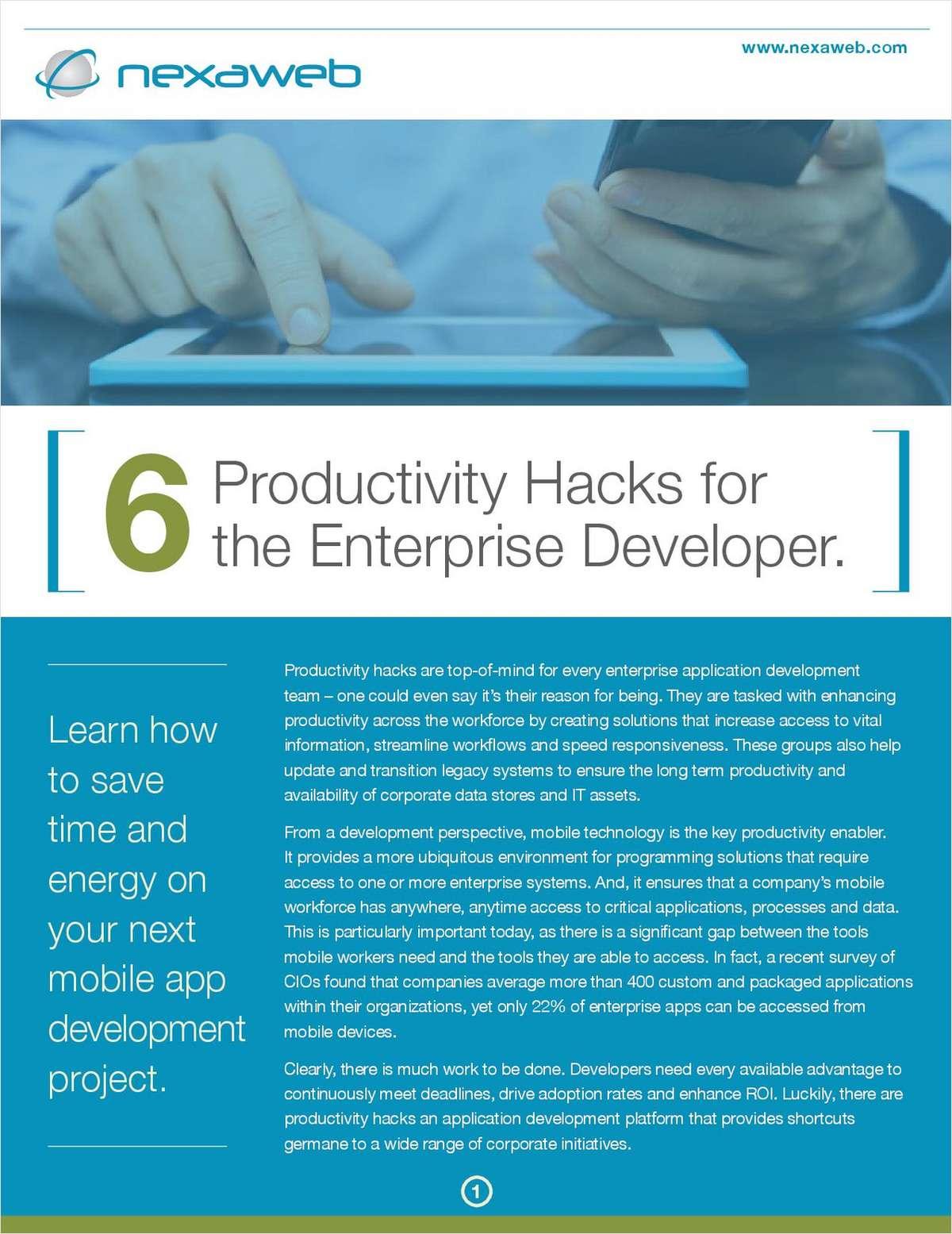 6 Productivity Hacks for Your Application Development Team