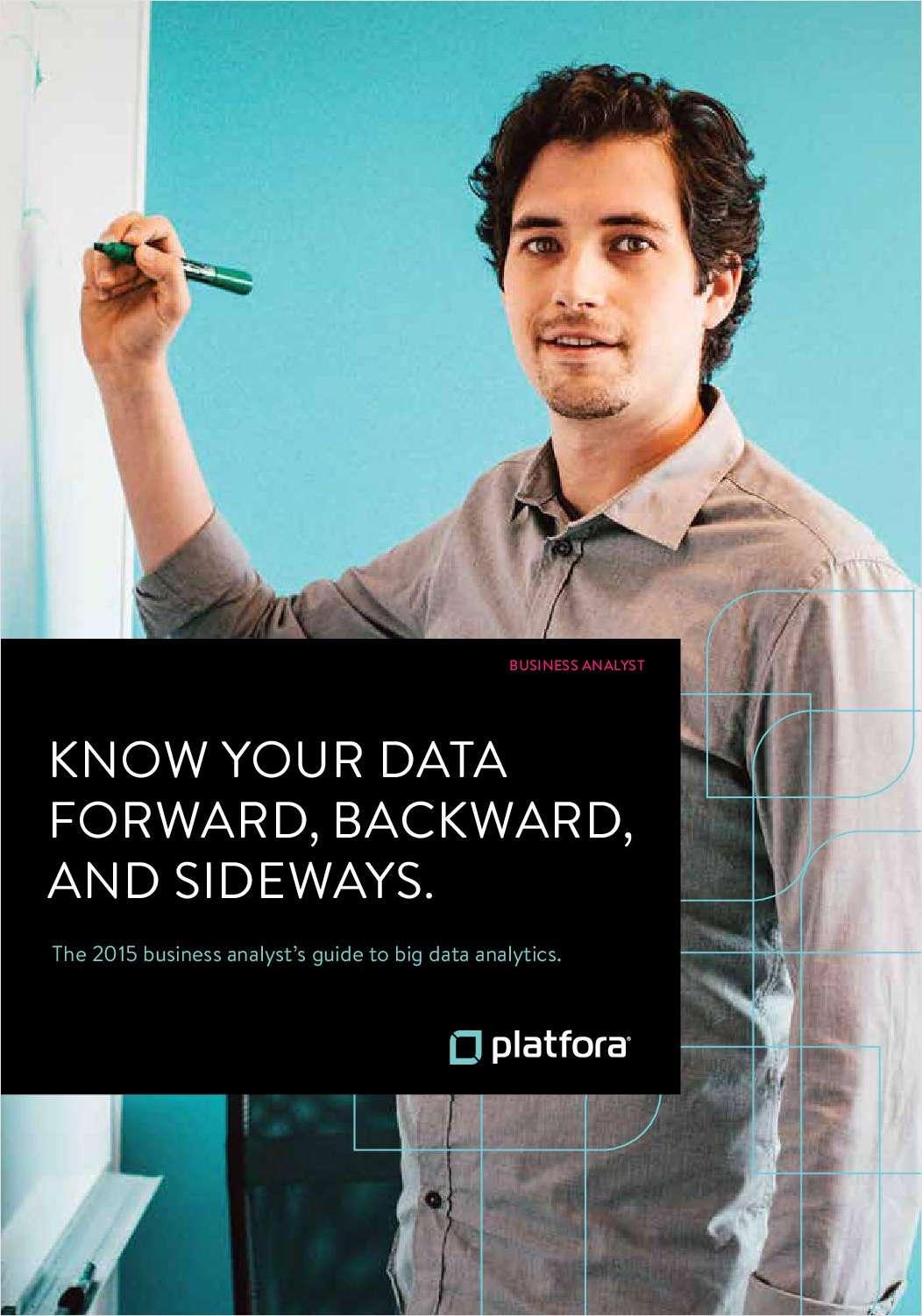 Know Your Data Forward, Backward and Sideways