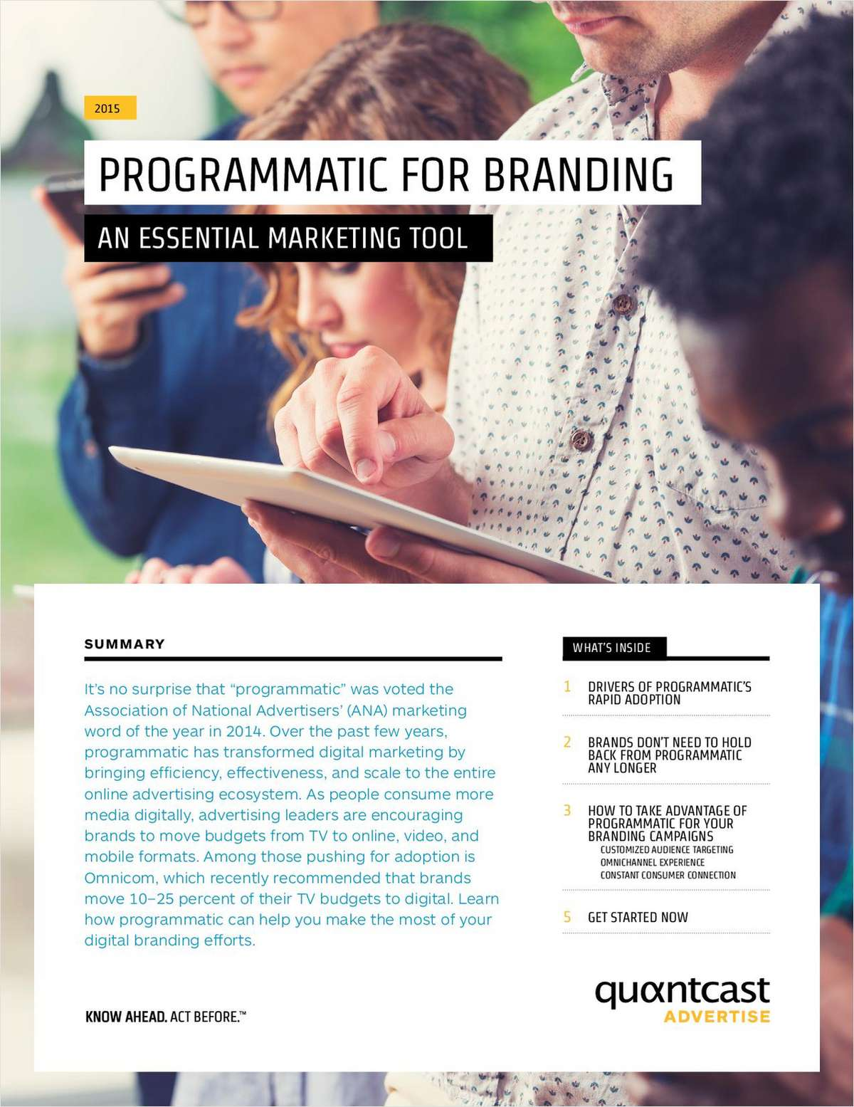 Programmatic for Branding: An Essential Marketing Tool