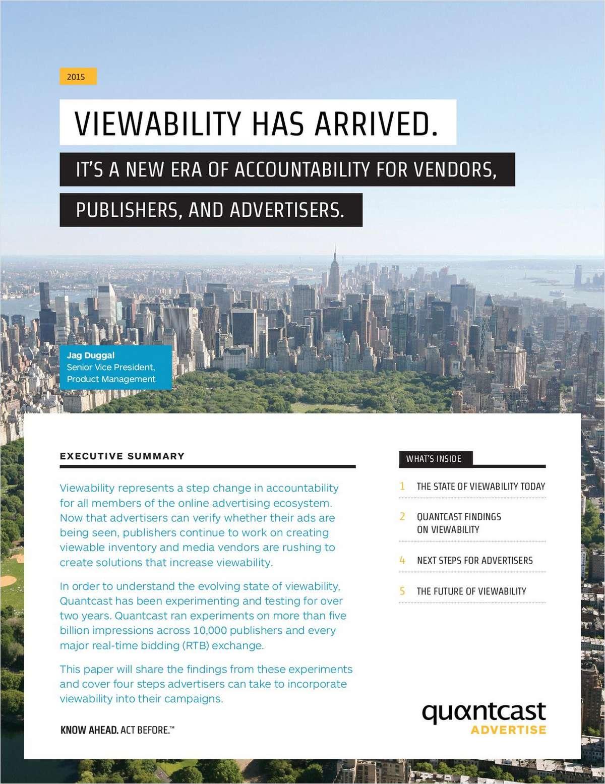 Viewability Has Arrived: A New Era Of Accountability
