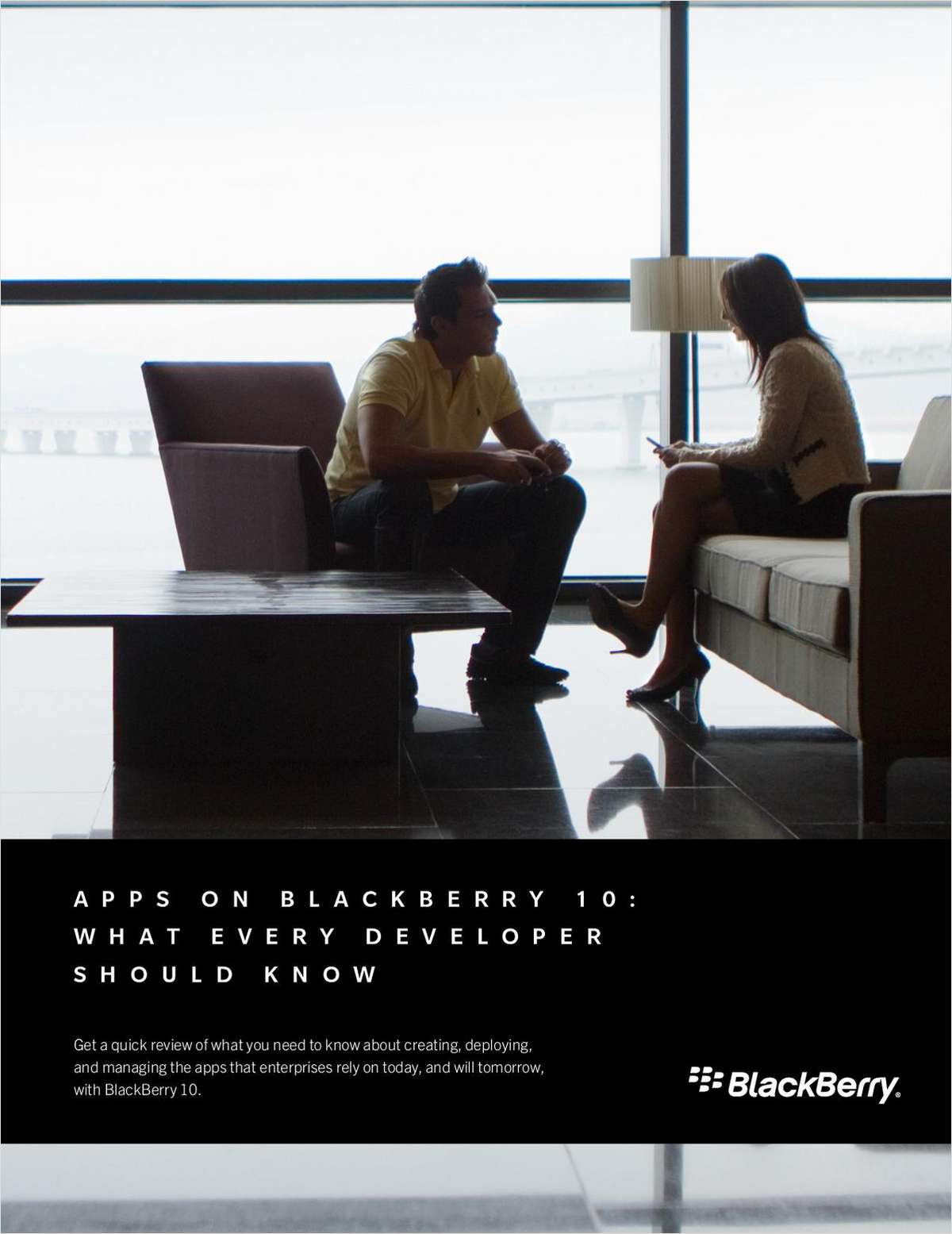 Apps on BlackBerry 10: What Every Developer Should Know