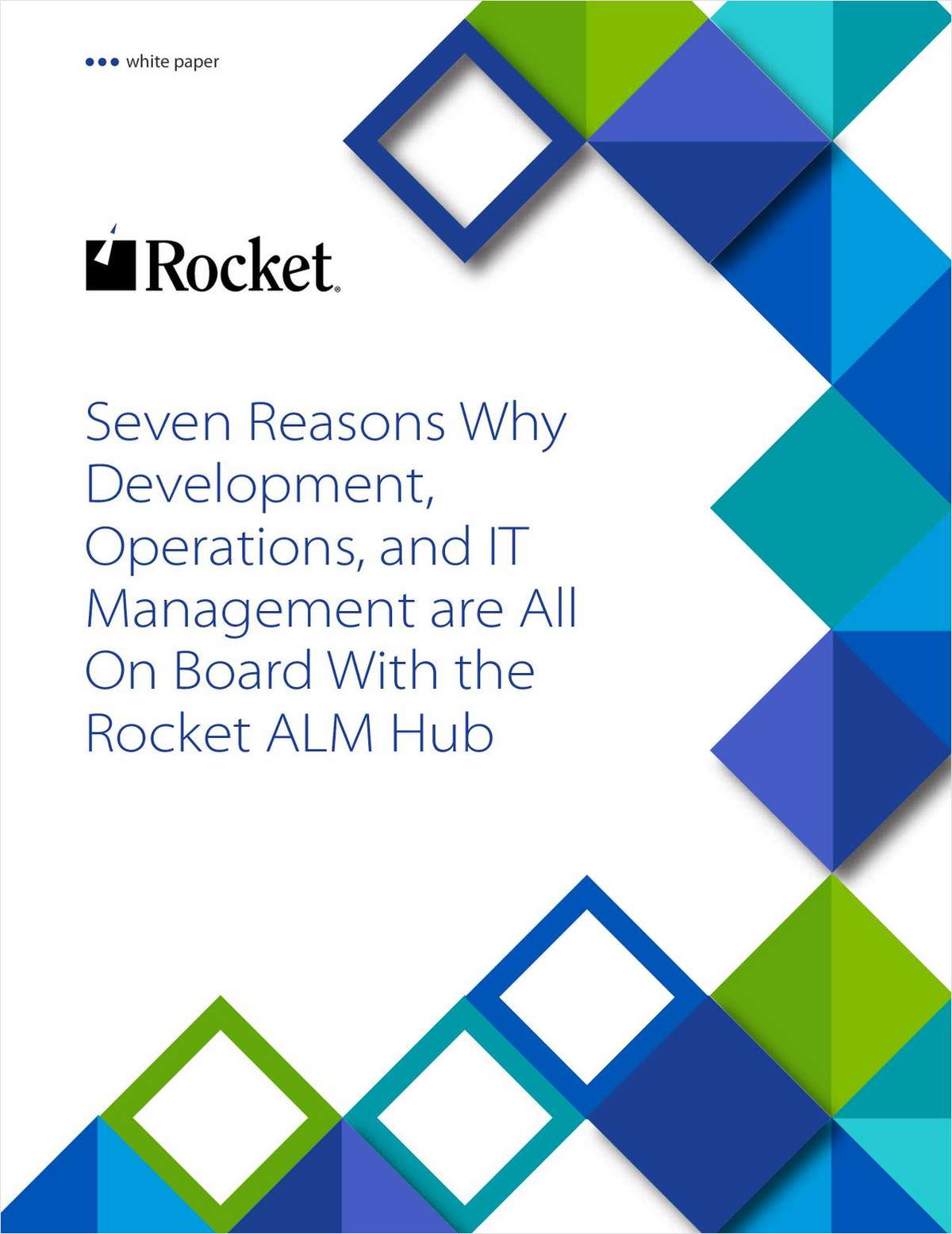 7 Reasons Why DevOps and IT Managers Love the Rocket ALM Hub