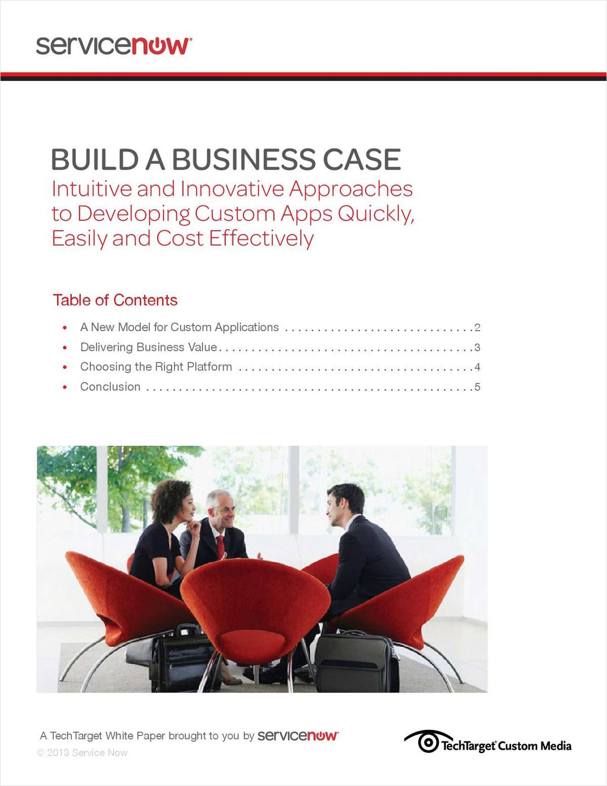 Build a Business Case: Developing Custom Apps