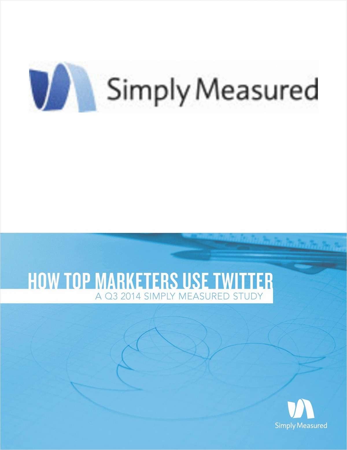 Quarterly Twitter Network Study - Q3 2014